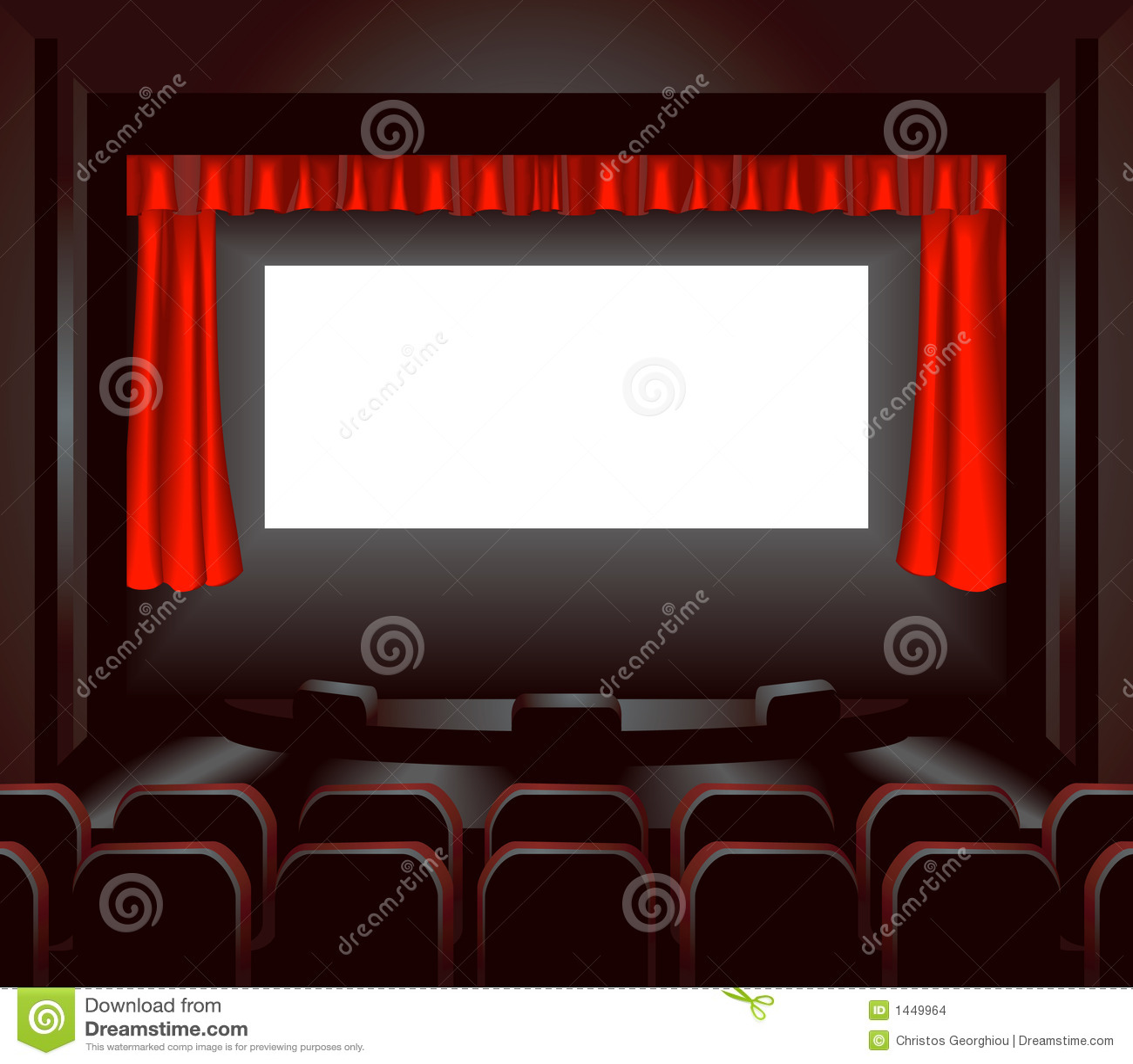 Tela do cinema
