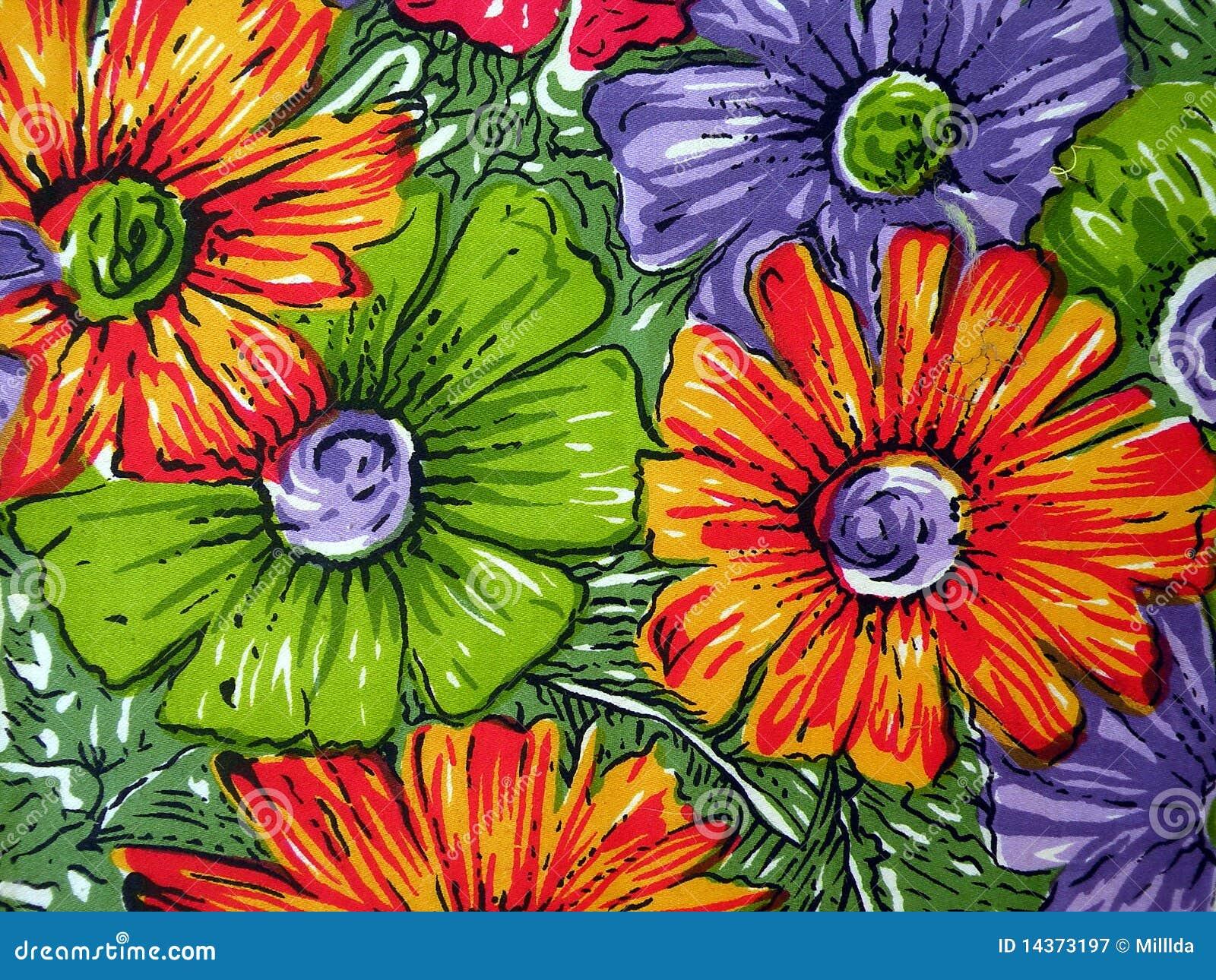 Tela floral