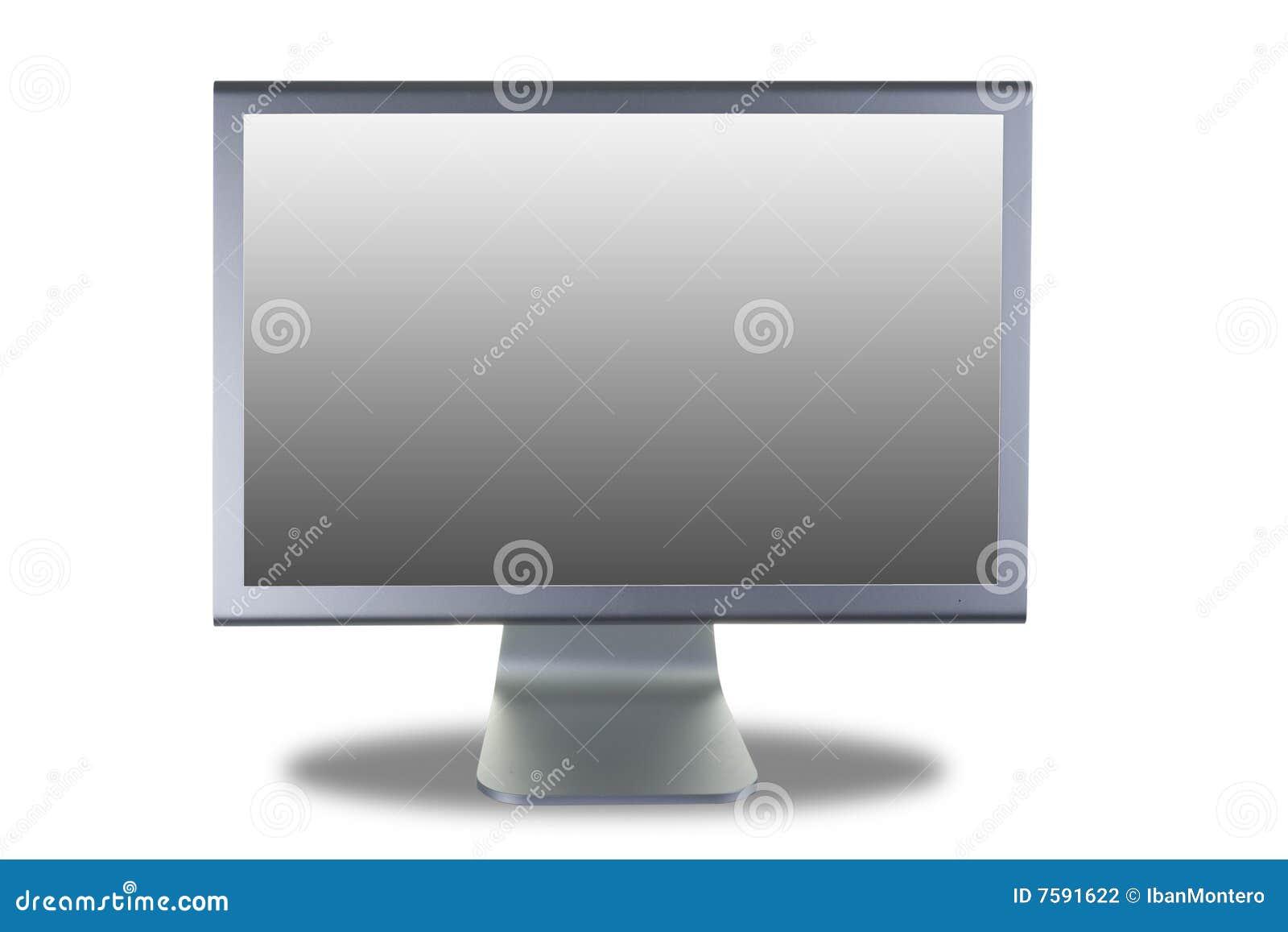Tela lisa do monitor do Lcd
