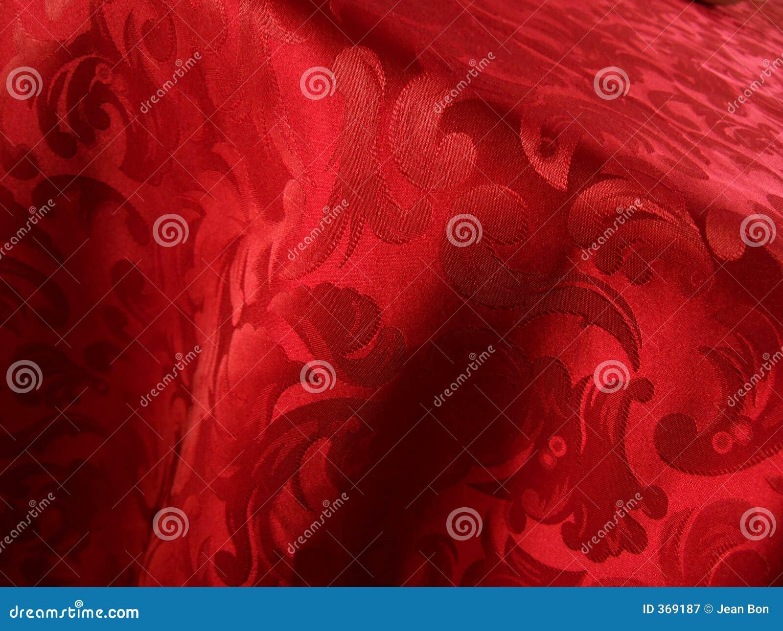 Tela roja suave
