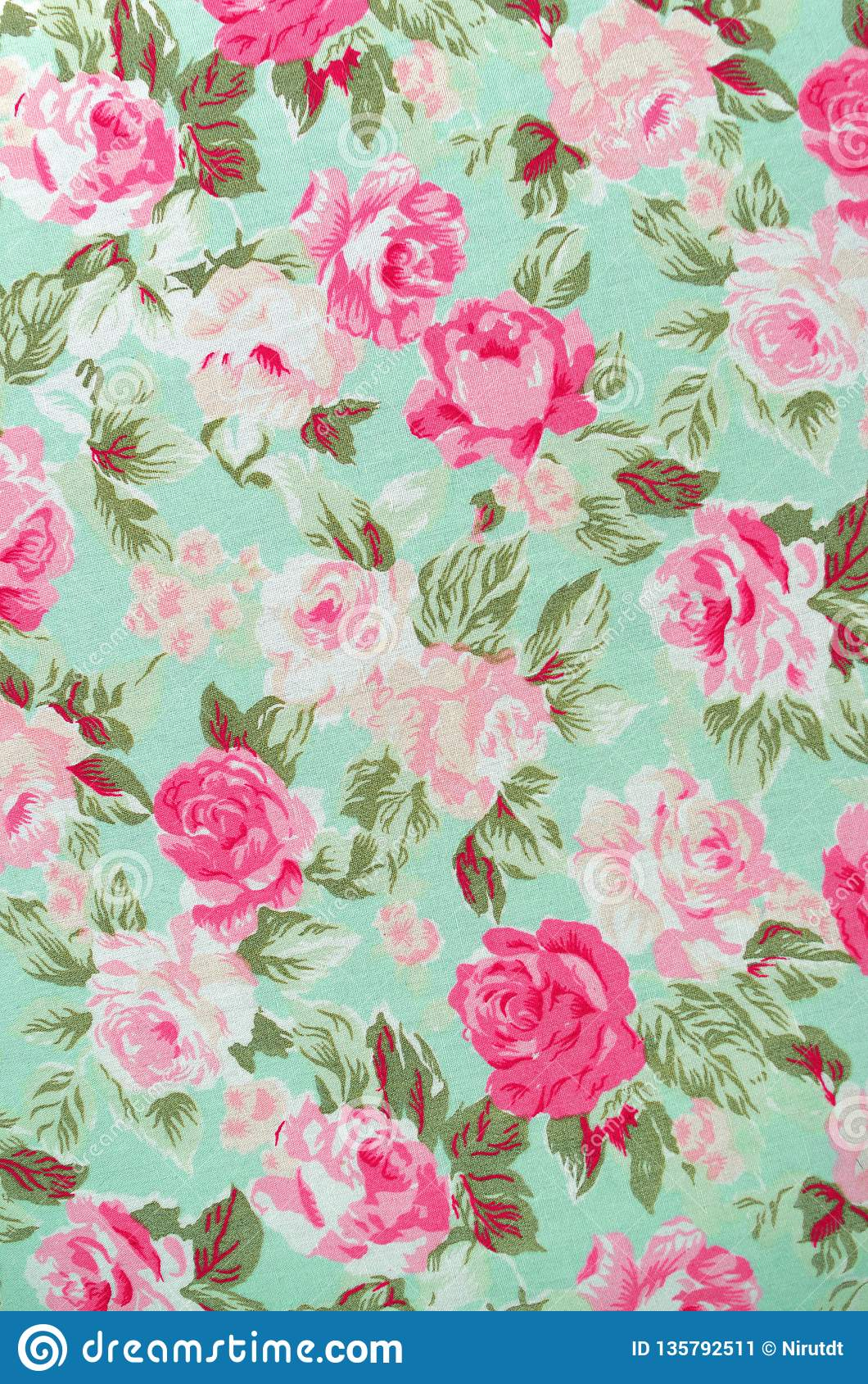 Tela Rose Pattern