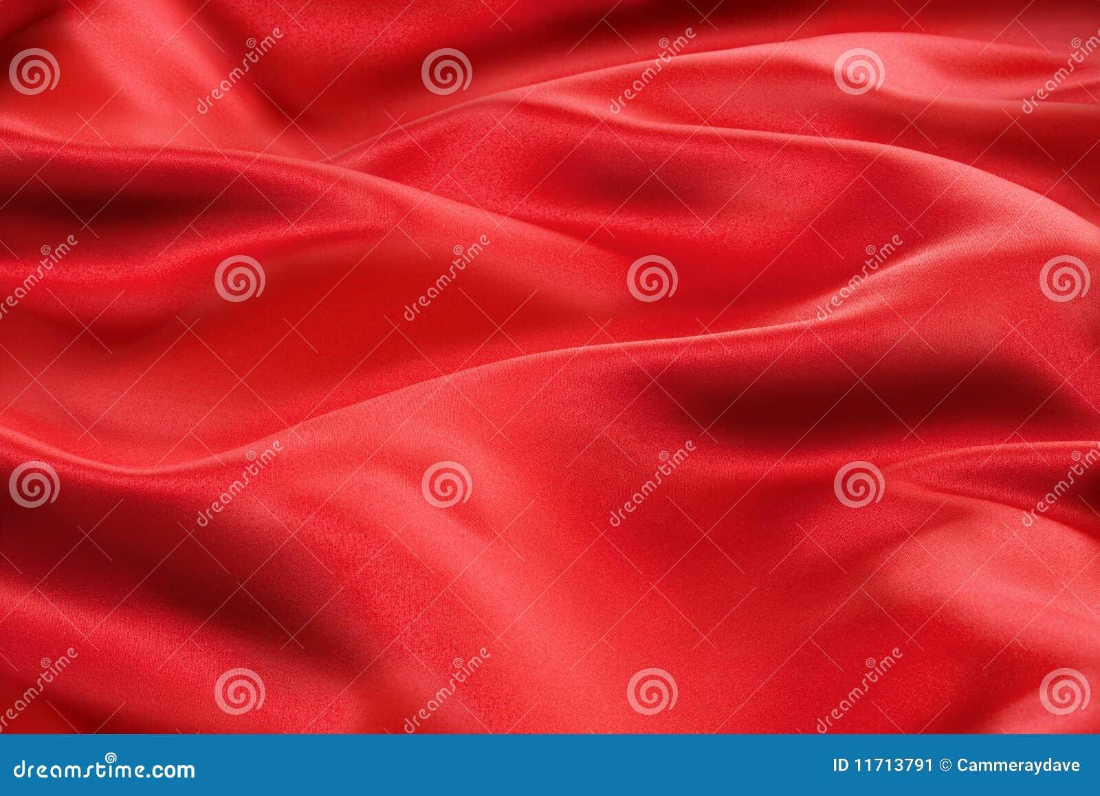 Tela vermelha do cetim