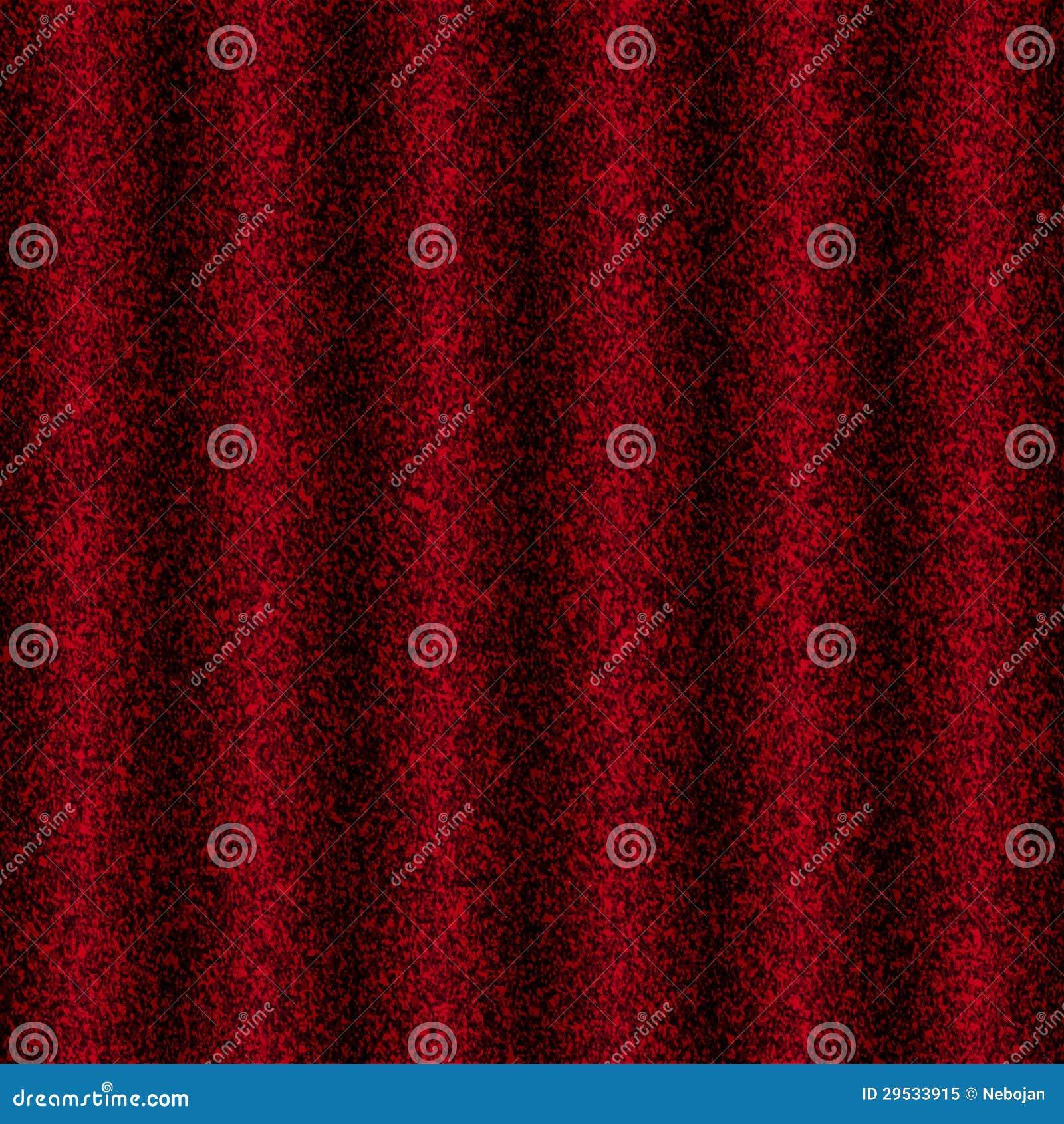 Tela vermelha plissada
