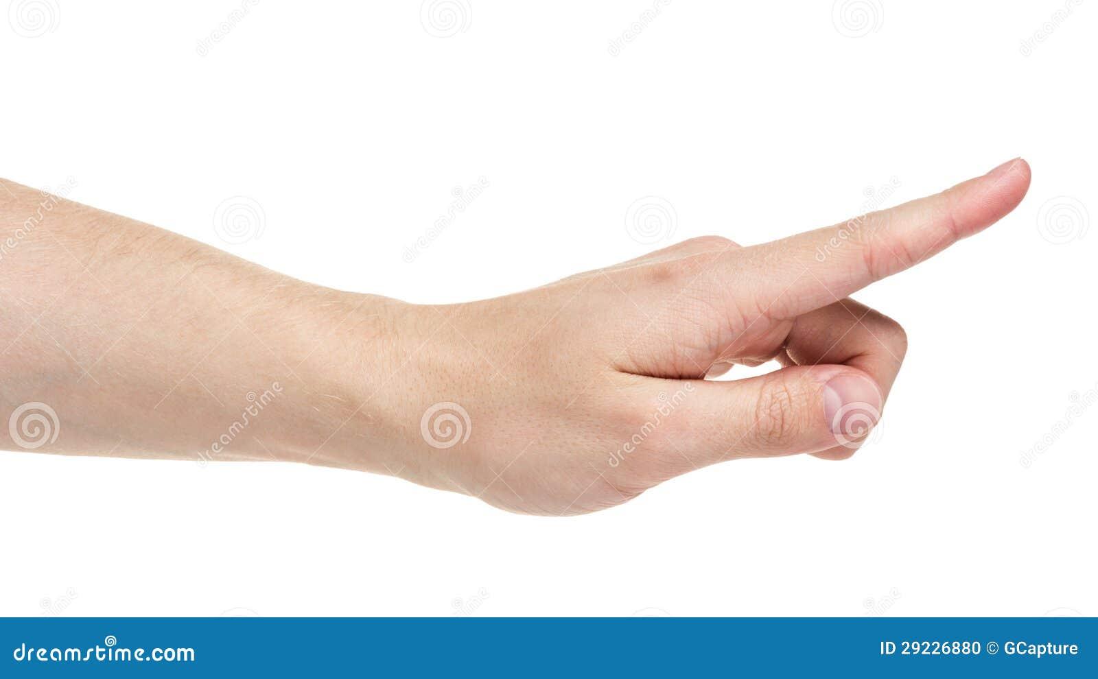 Download Tela Virtual Tocante Da Mão Adulta Do Homem Foto de Stock - Imagem de index, sentido: 29226880