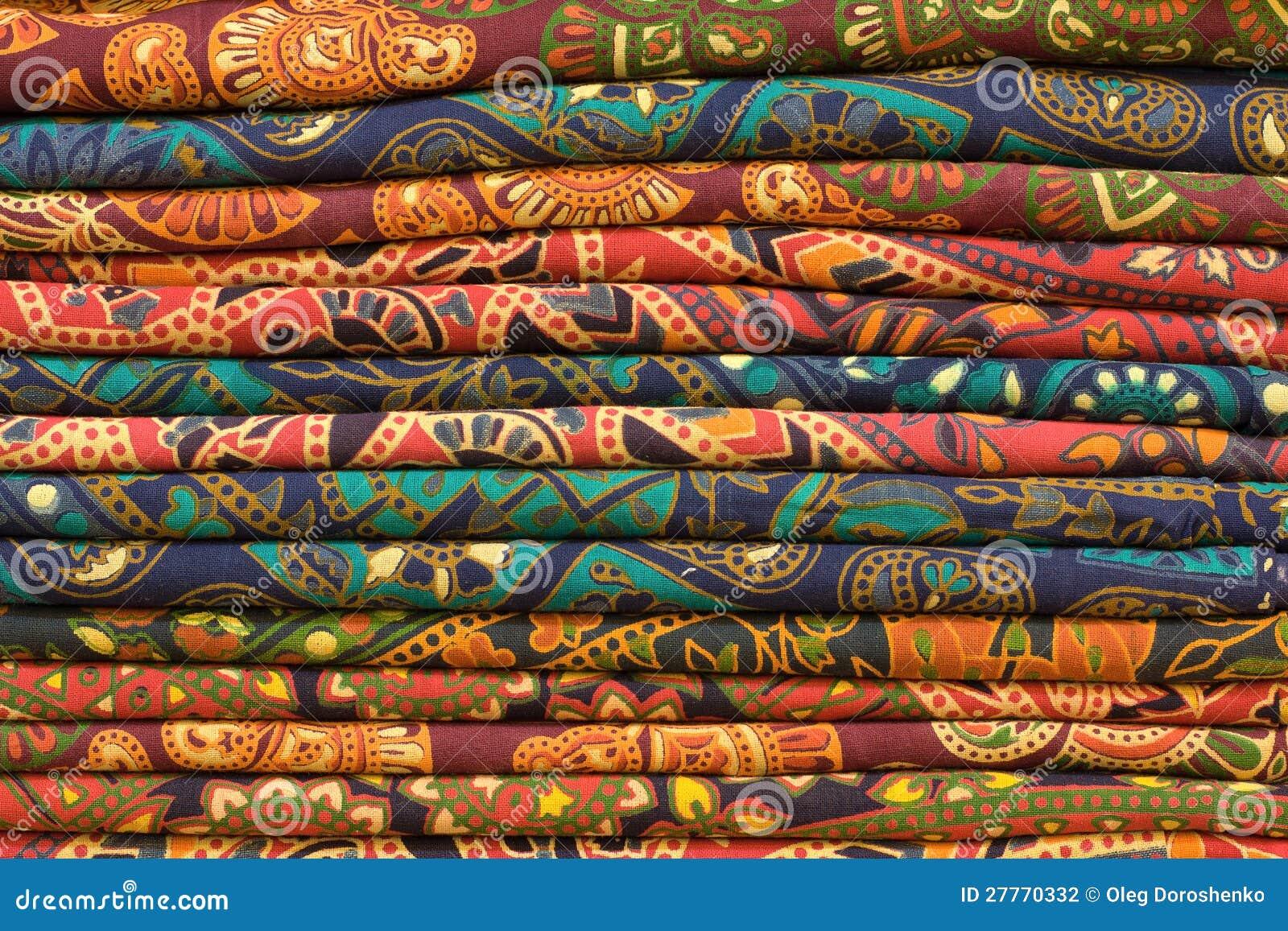 Telas impresas bloque fotograf a de archivo imagen 27770332 - Telas africanas barcelona ...