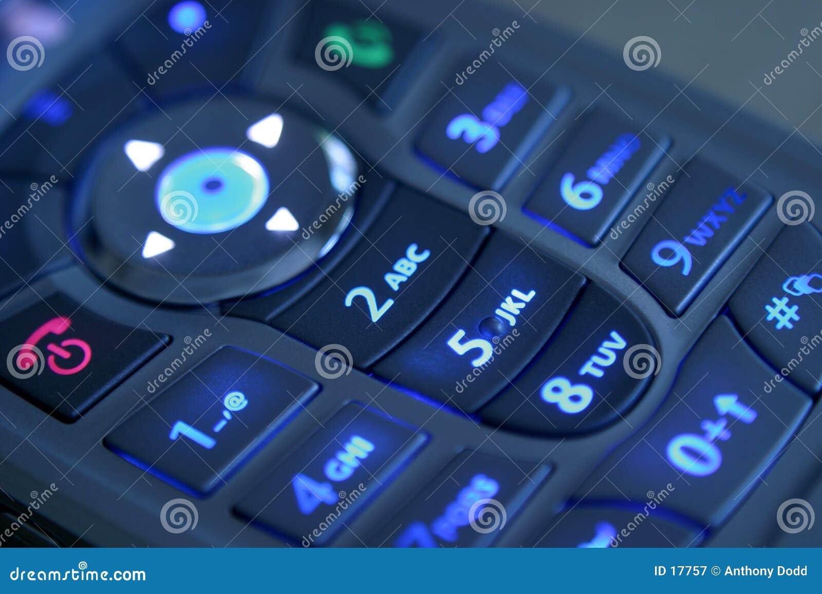 Telclado numérico de Illluminated