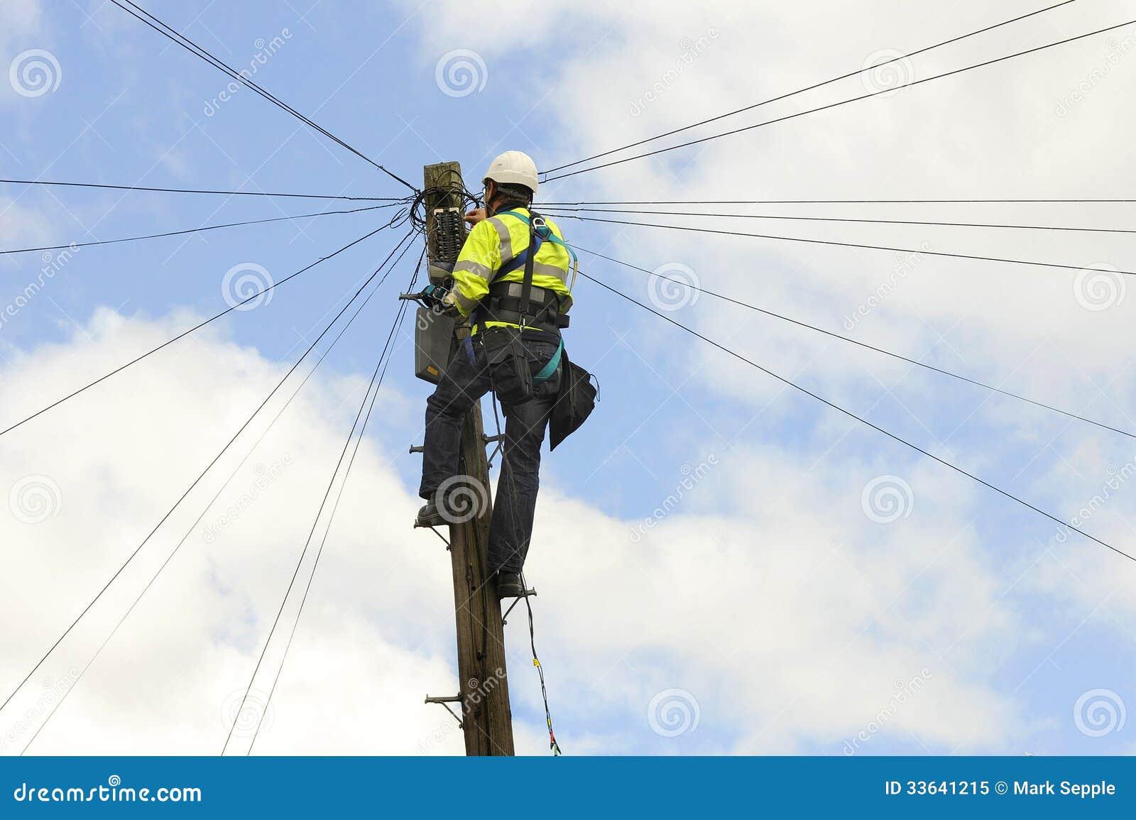Telecom Engineer Editorial Image - Image: 33641215