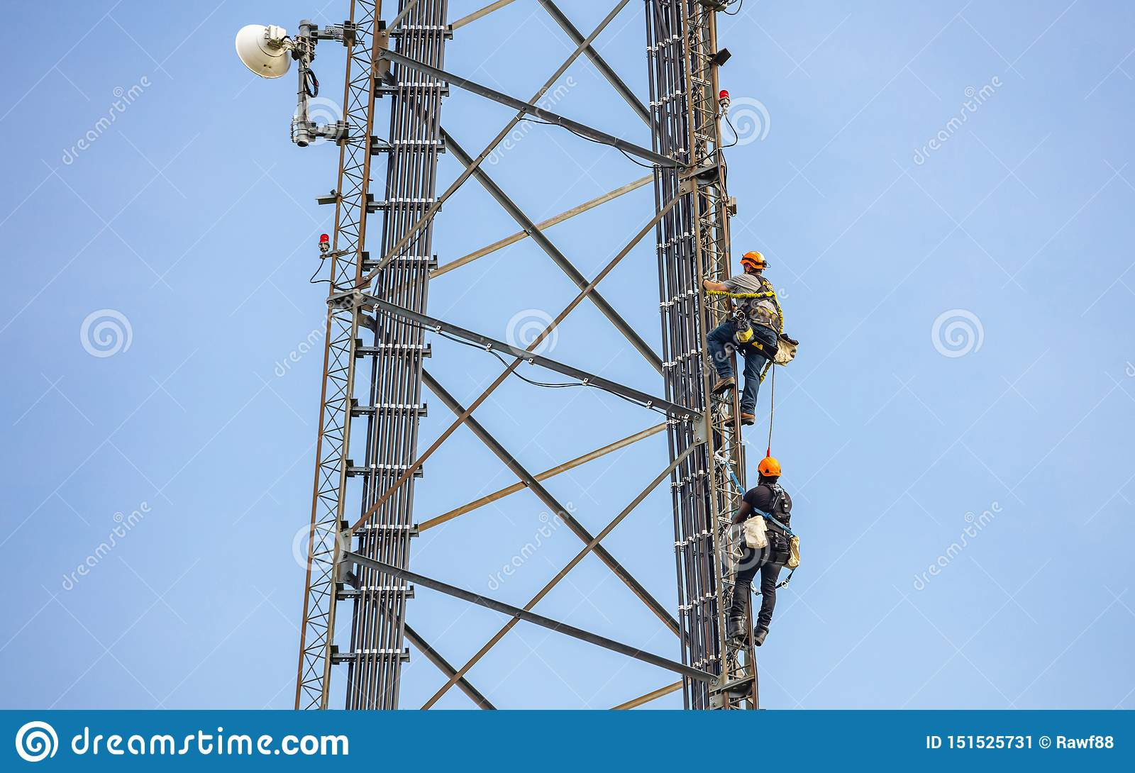 223 Cell Tower Climbing Photos Free Royalty Free Stock Photos From Dreamstime