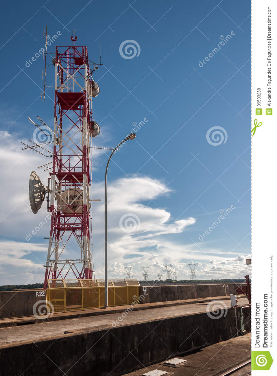Telecom Transmission Tower Itaipu
