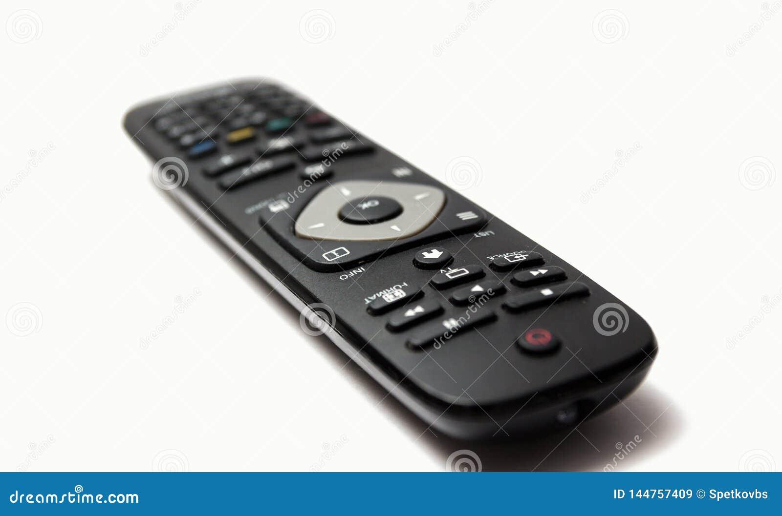 Telecomando della TV isolato
