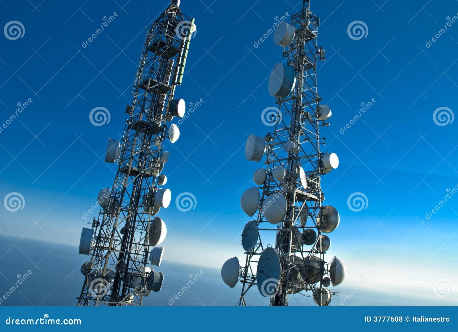 Telecommunicatie torens