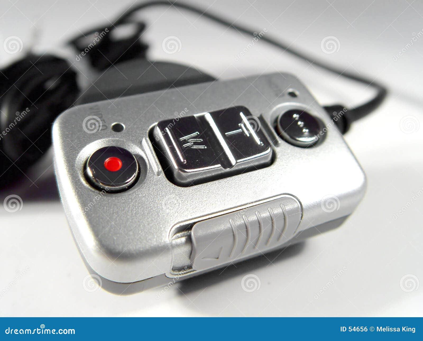 Telecontrole para a câmara digital