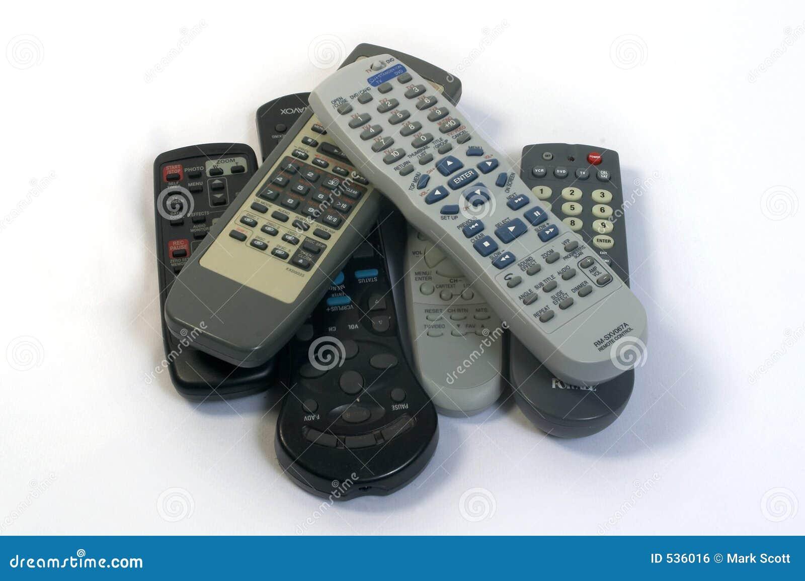 Telecontroles demais