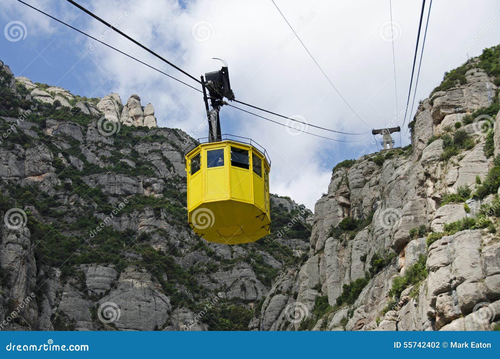 Teleférico em Monserrate, Espanha