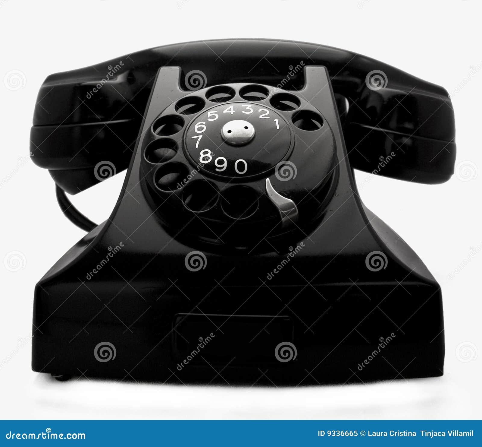 Telefon stockbild. Bild von bedeutung, kommunikation, drei - 9336665