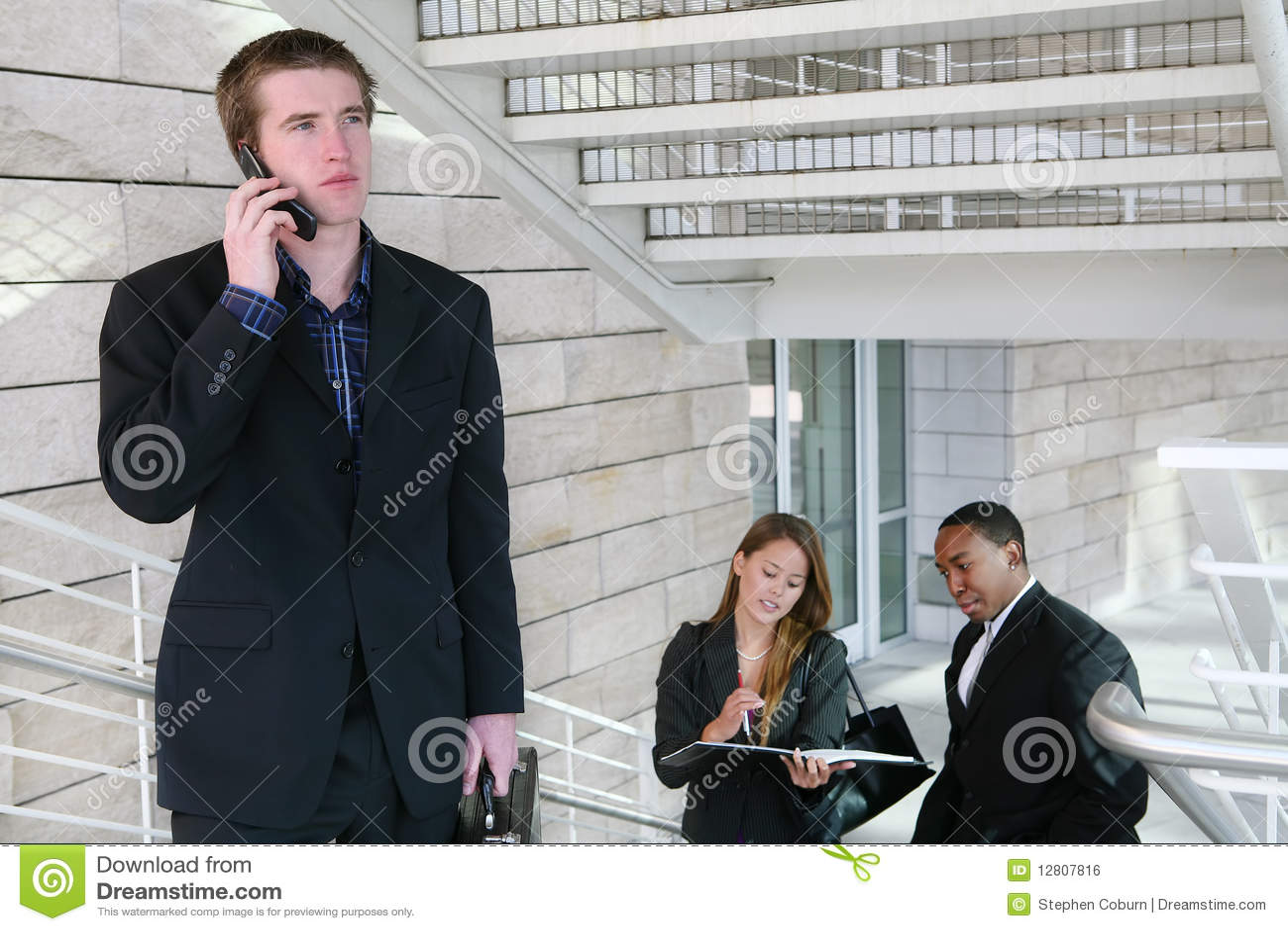 Telefon för affärsman