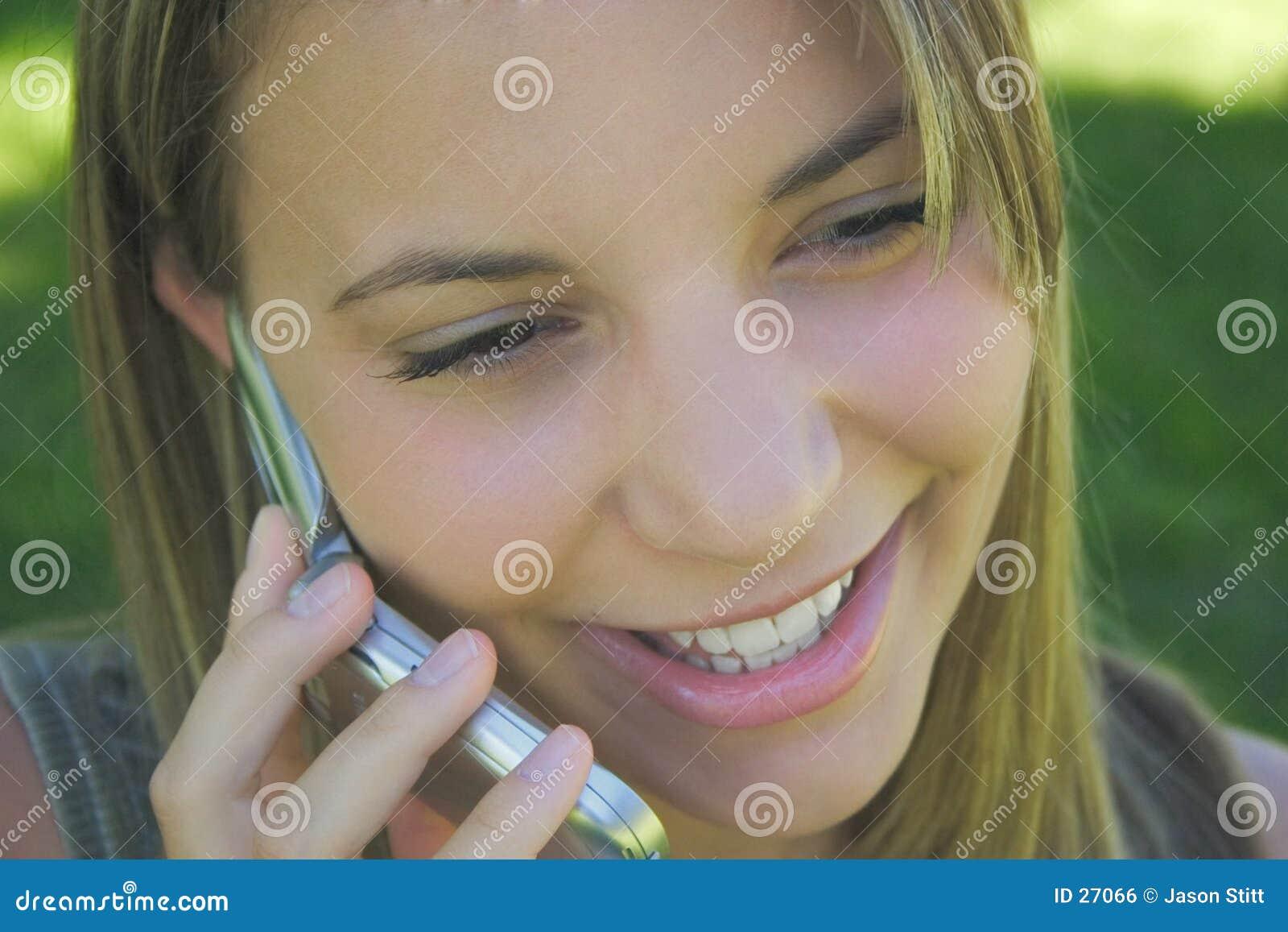 Download Telefon-Frau stockfoto. Bild von schön, frauen, jugendlich - 27066