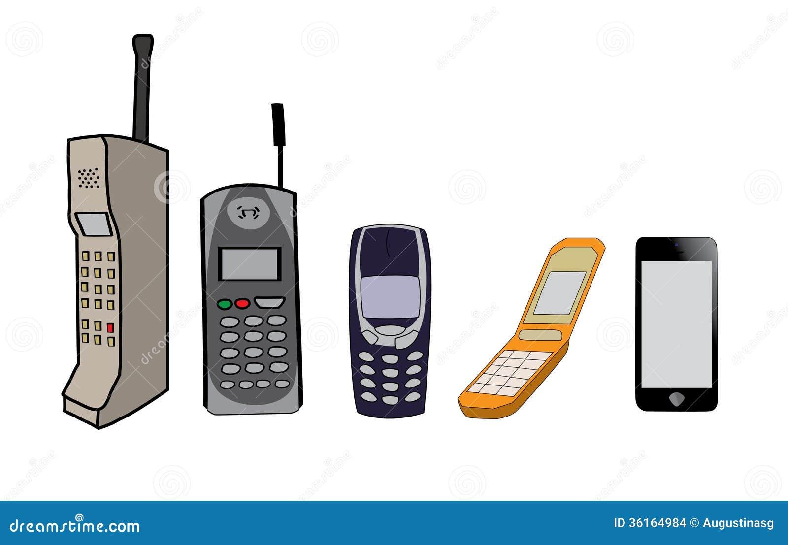 Telefon komórkowy ewolucja