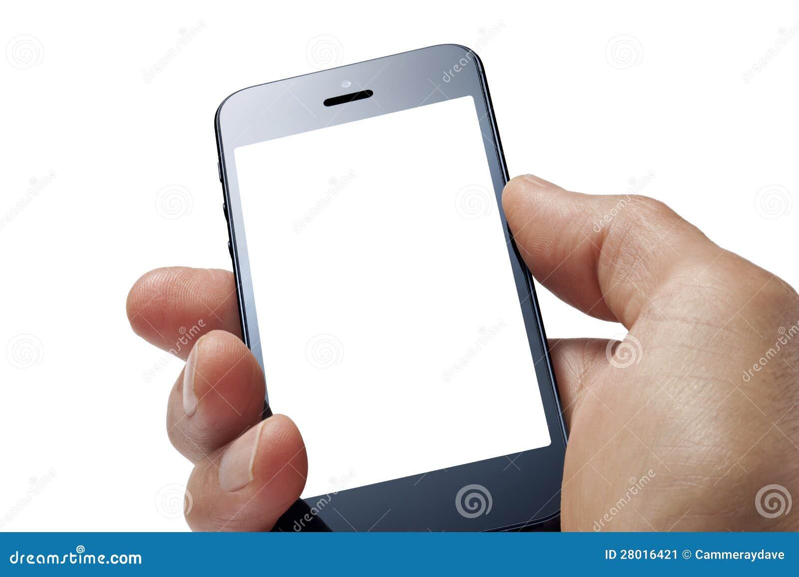 Telefon Komórkowy ręka