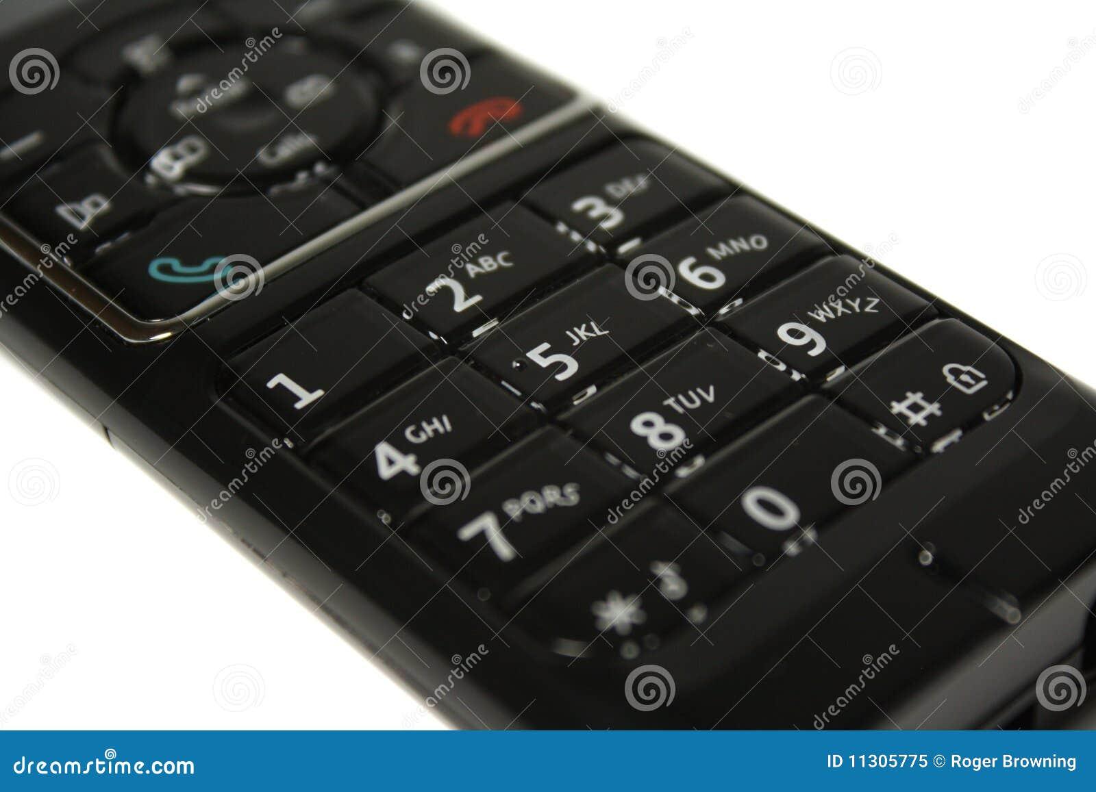 Telefon-Tastaturblock