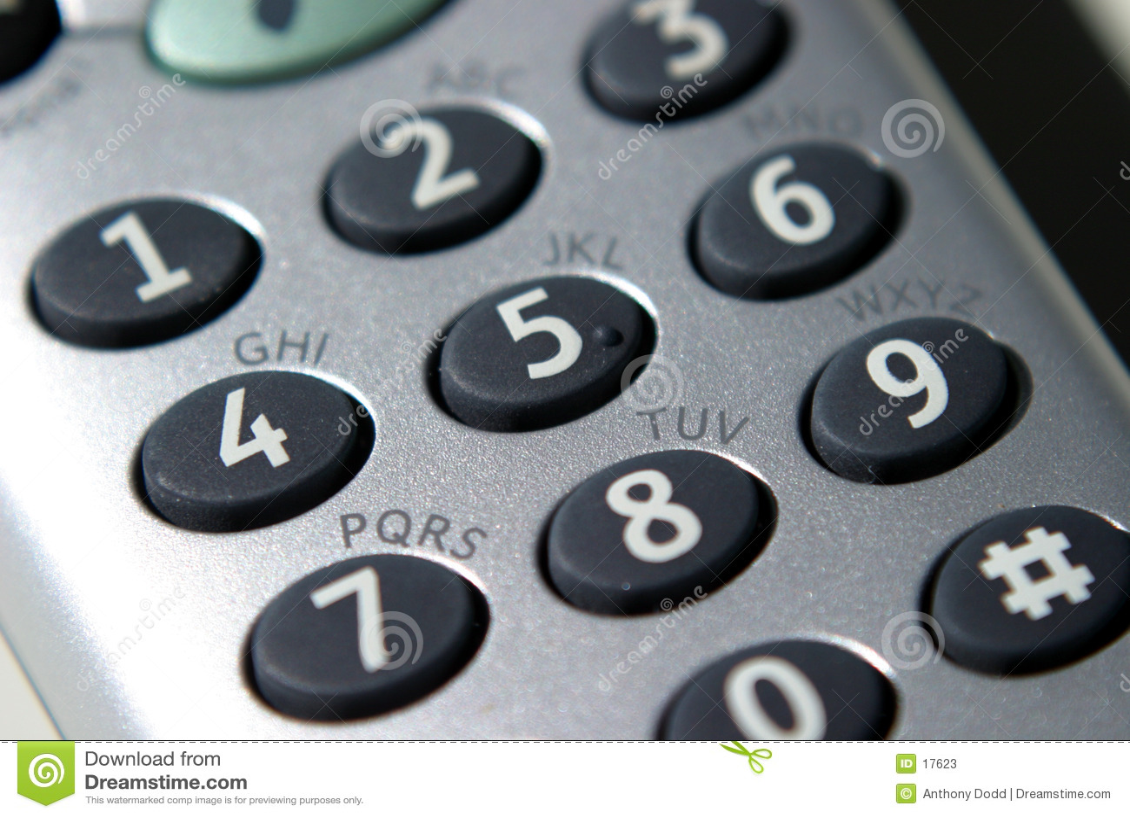 Telefon, Tastaturblock