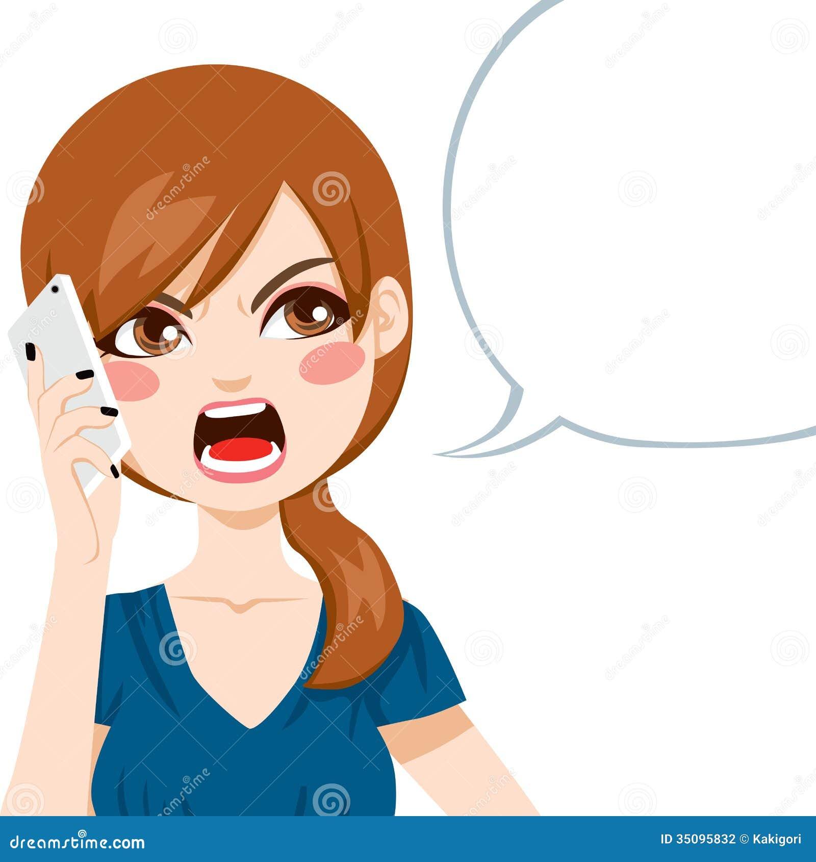 Telefonata arrabbiata