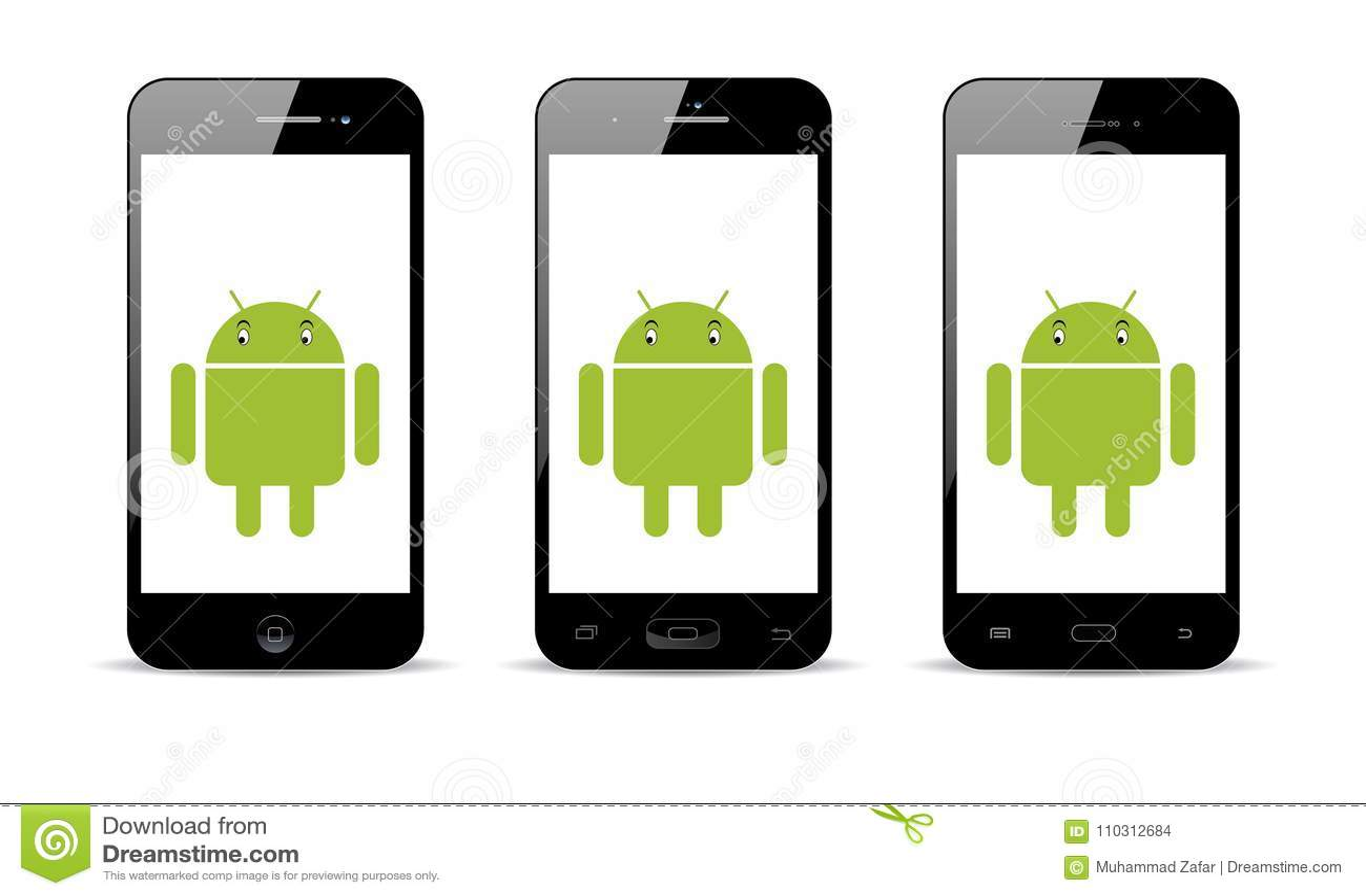 Telefone celular de Android