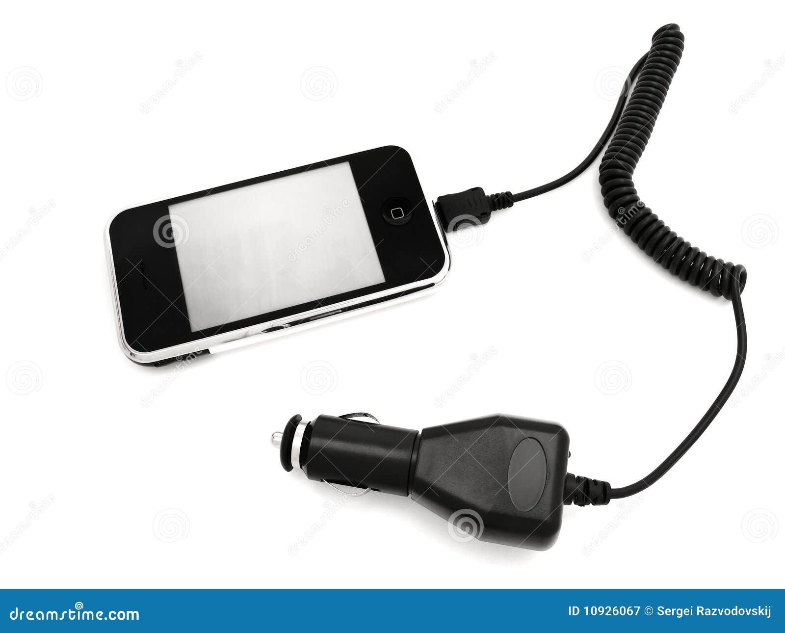 Telefone com adaptador