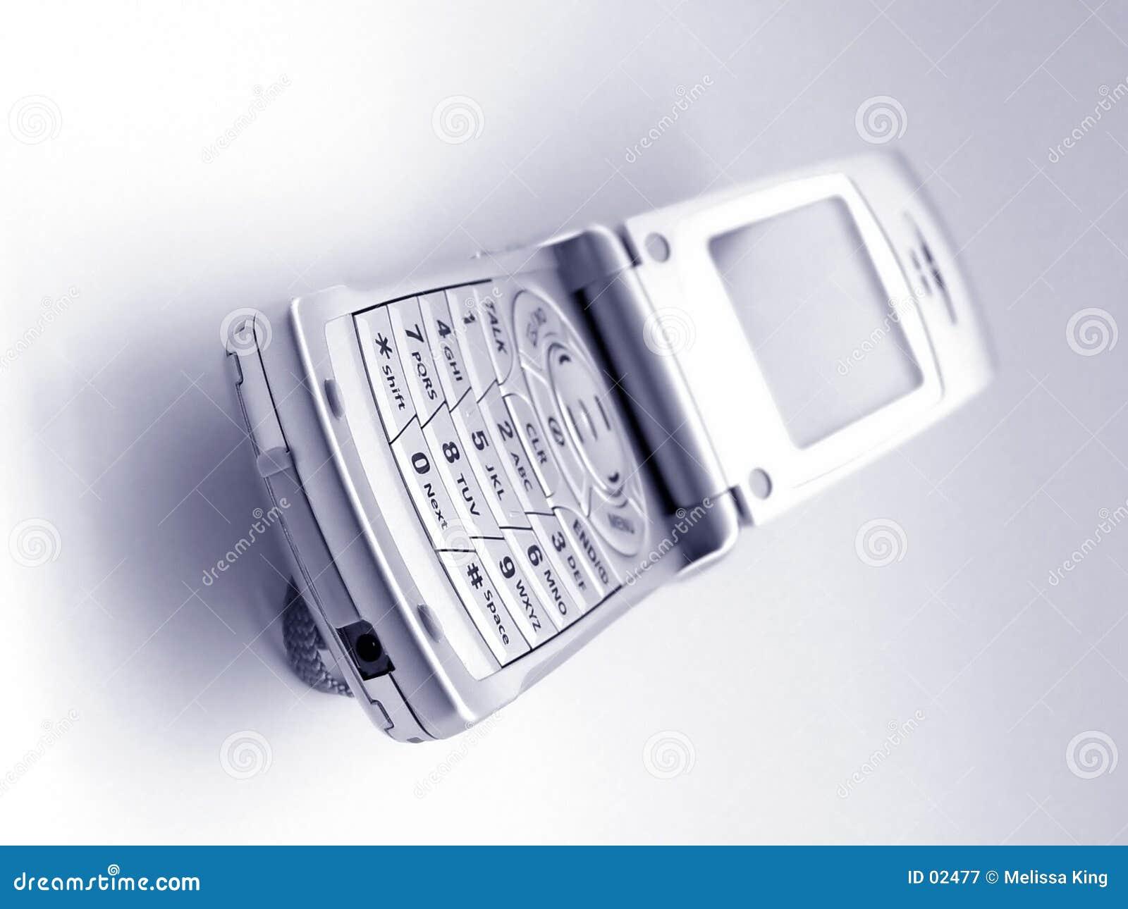 Telefone de pilha cheio