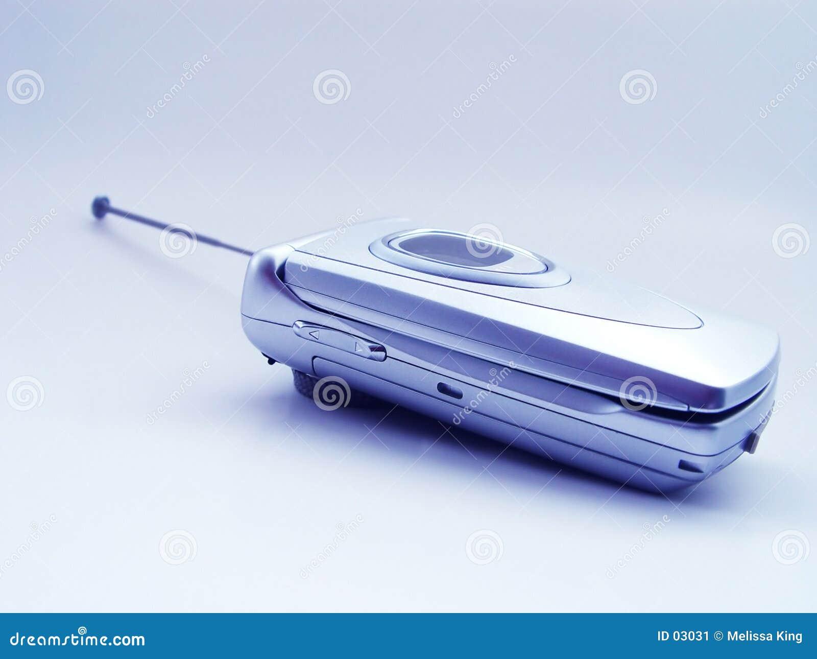 Telefone de pilha fechado