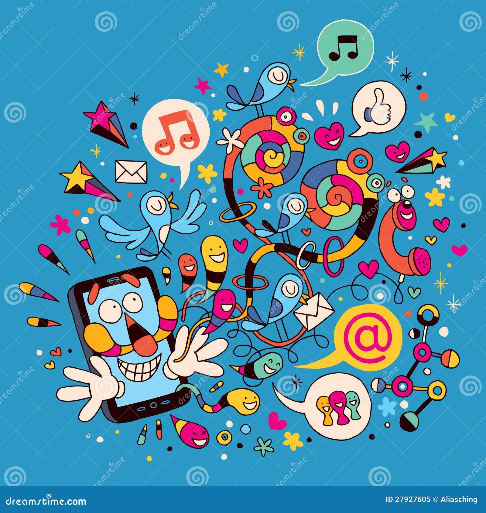 Telefone móvel do divertimento