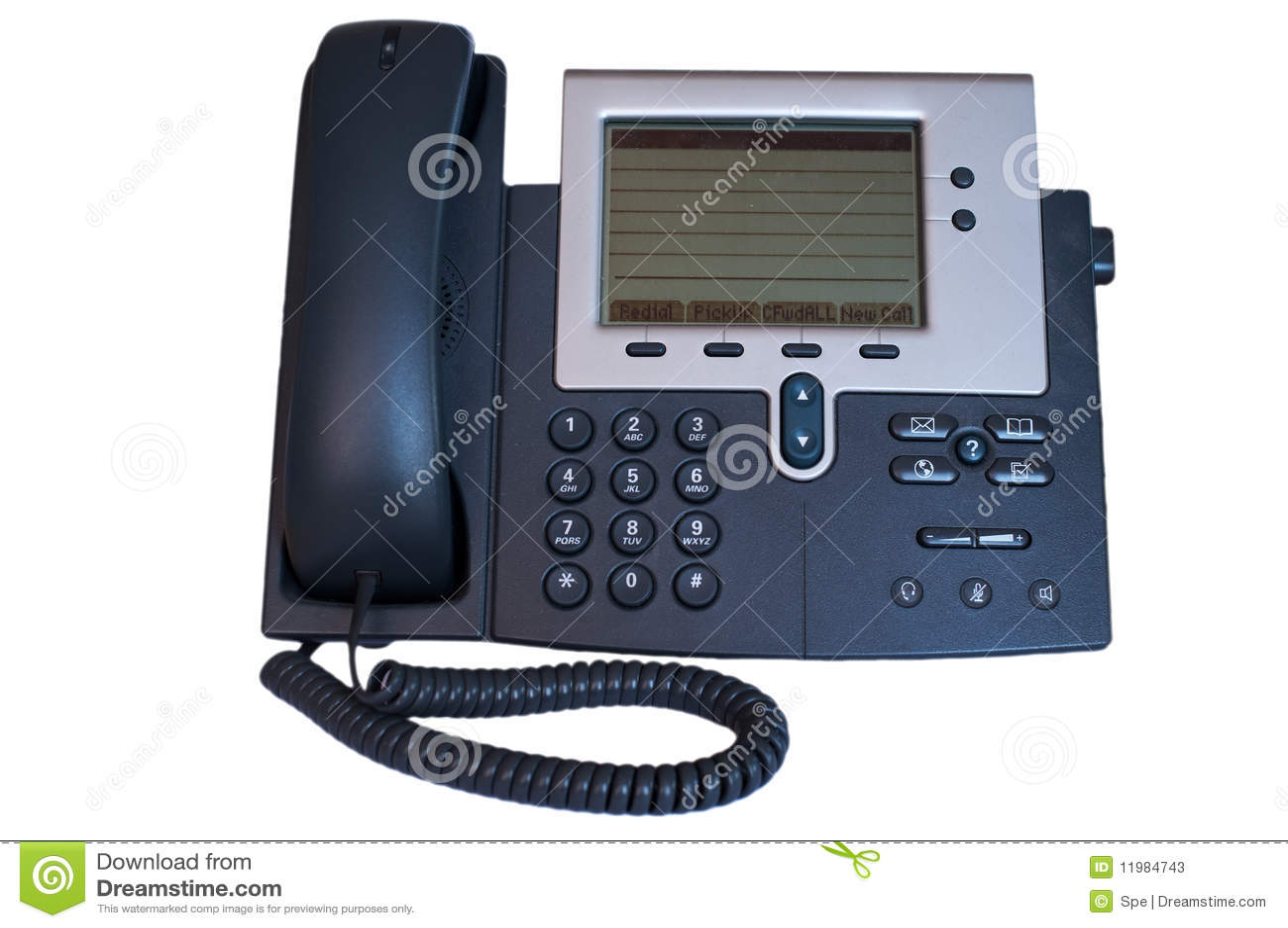 Telefone moderno do escrit rio fotos de stock imagem for Telefono de oficinas