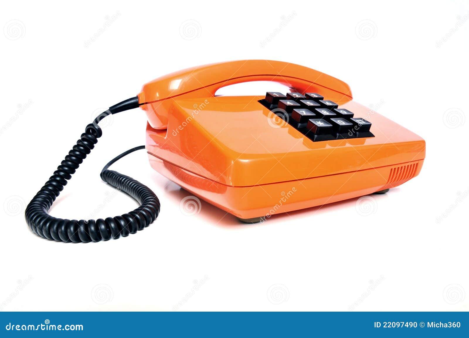 Telefonieren Sie von den achtziger Jahren