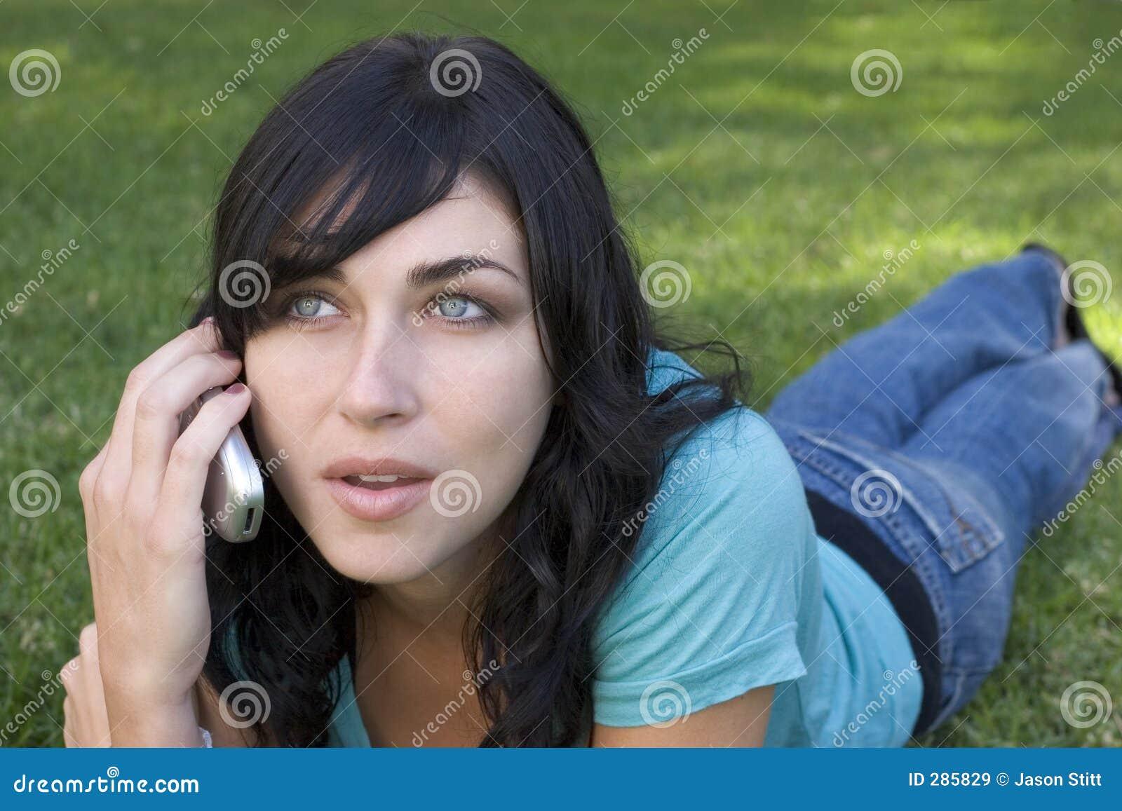 Telefonkvinna