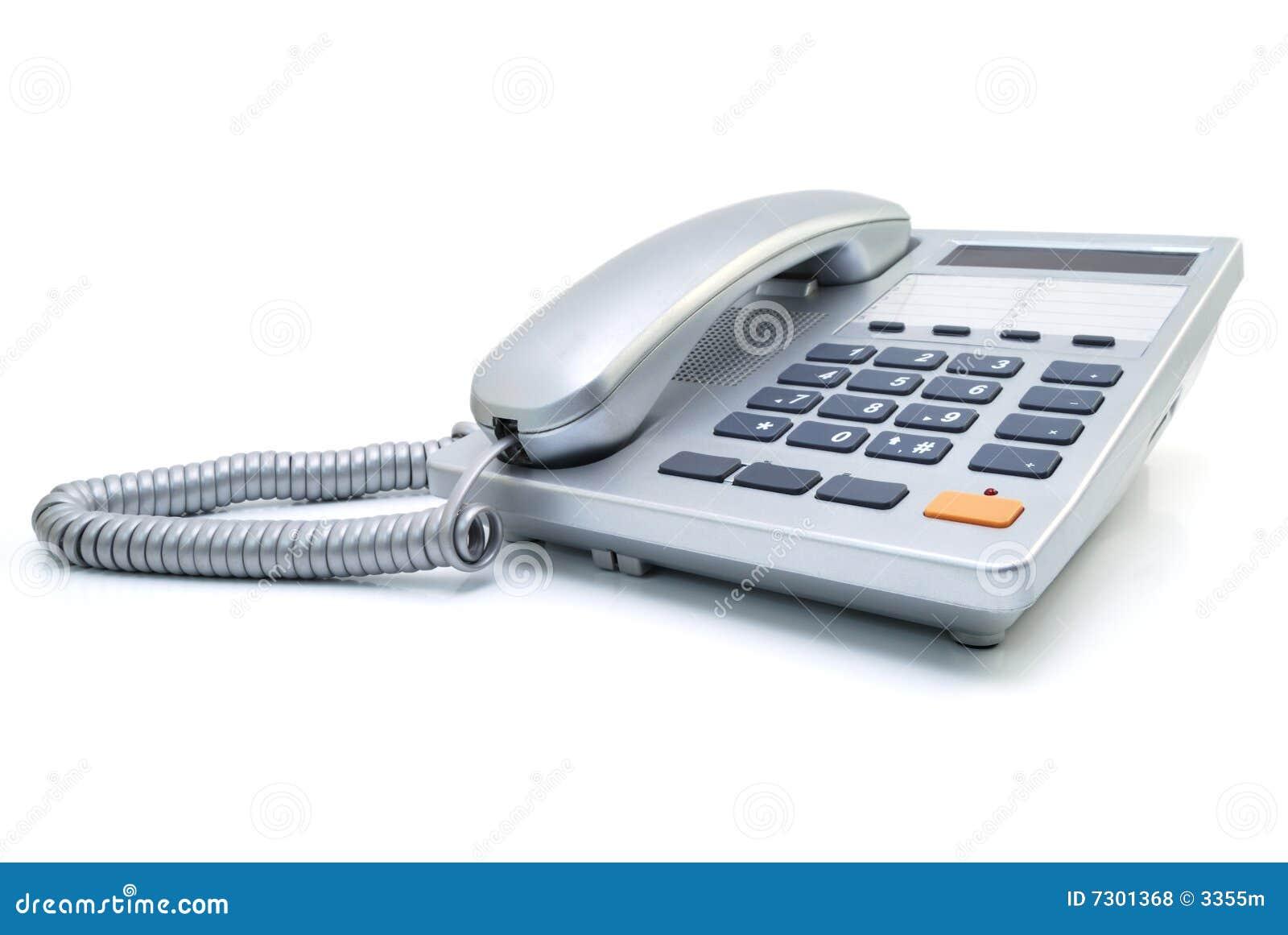 Telefono argenteo