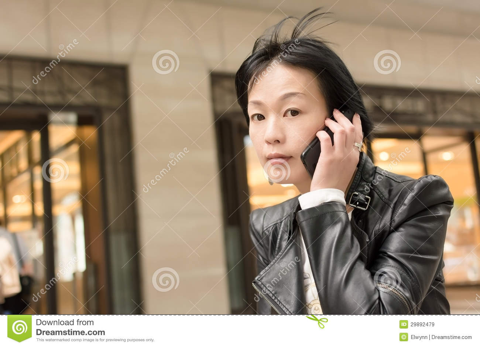 Donna matura asiatica