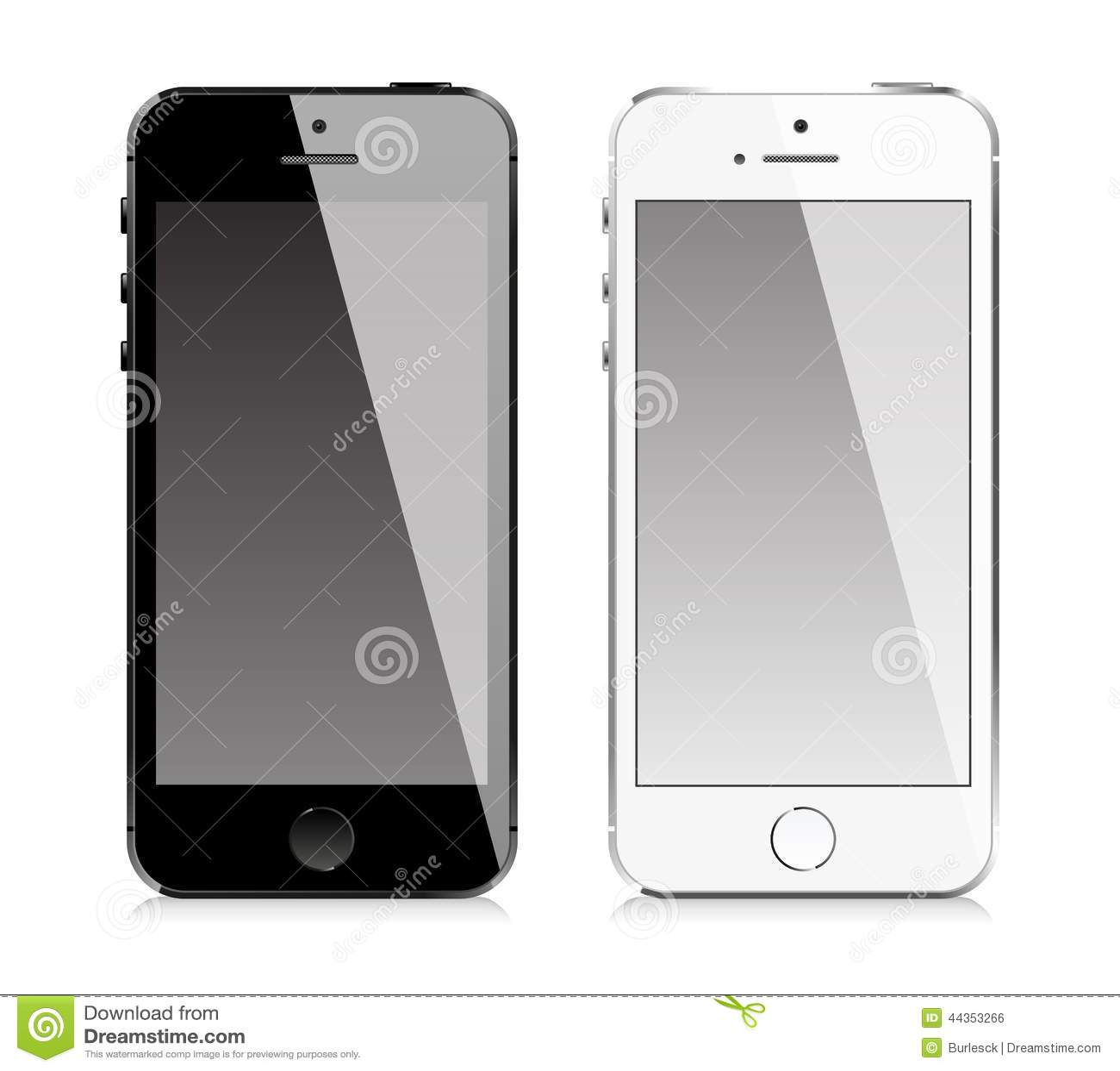 Telefono cellulare simile a stile di iphone