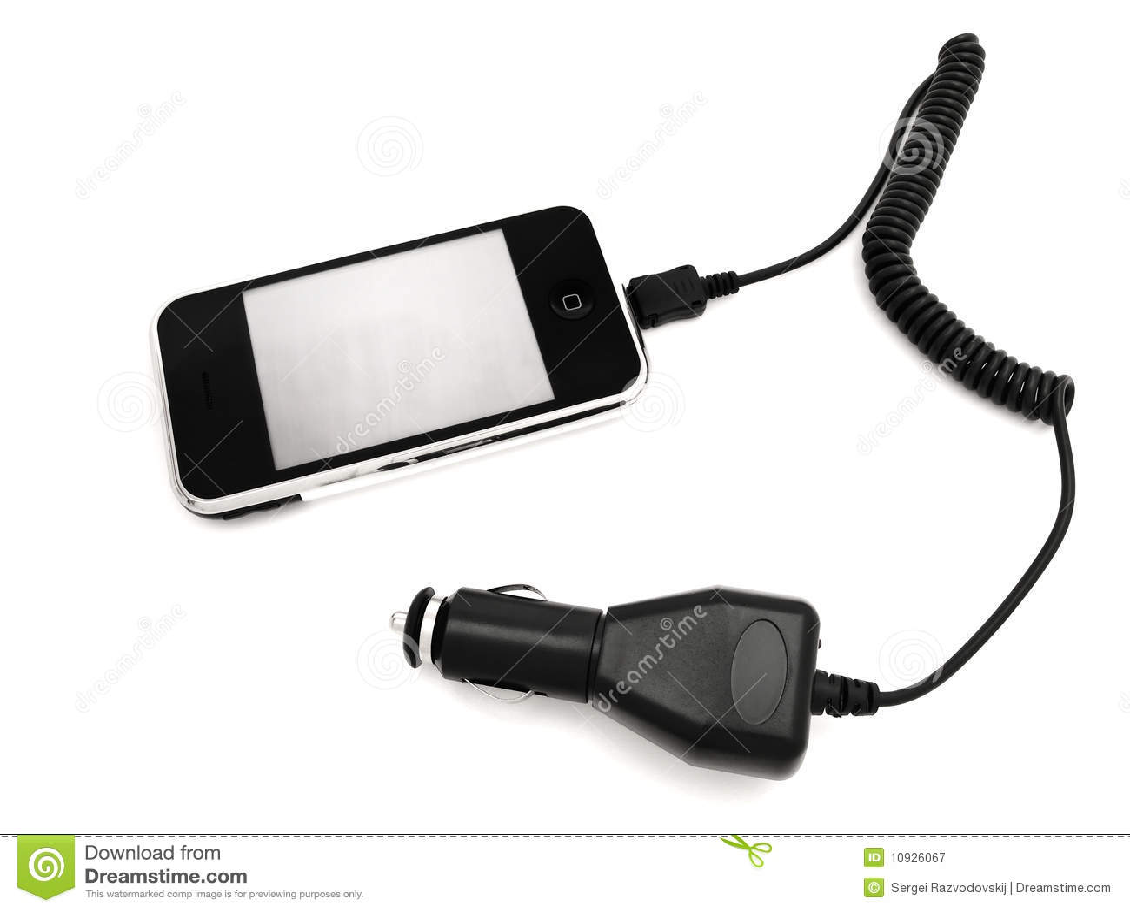 Telefono con l adattatore