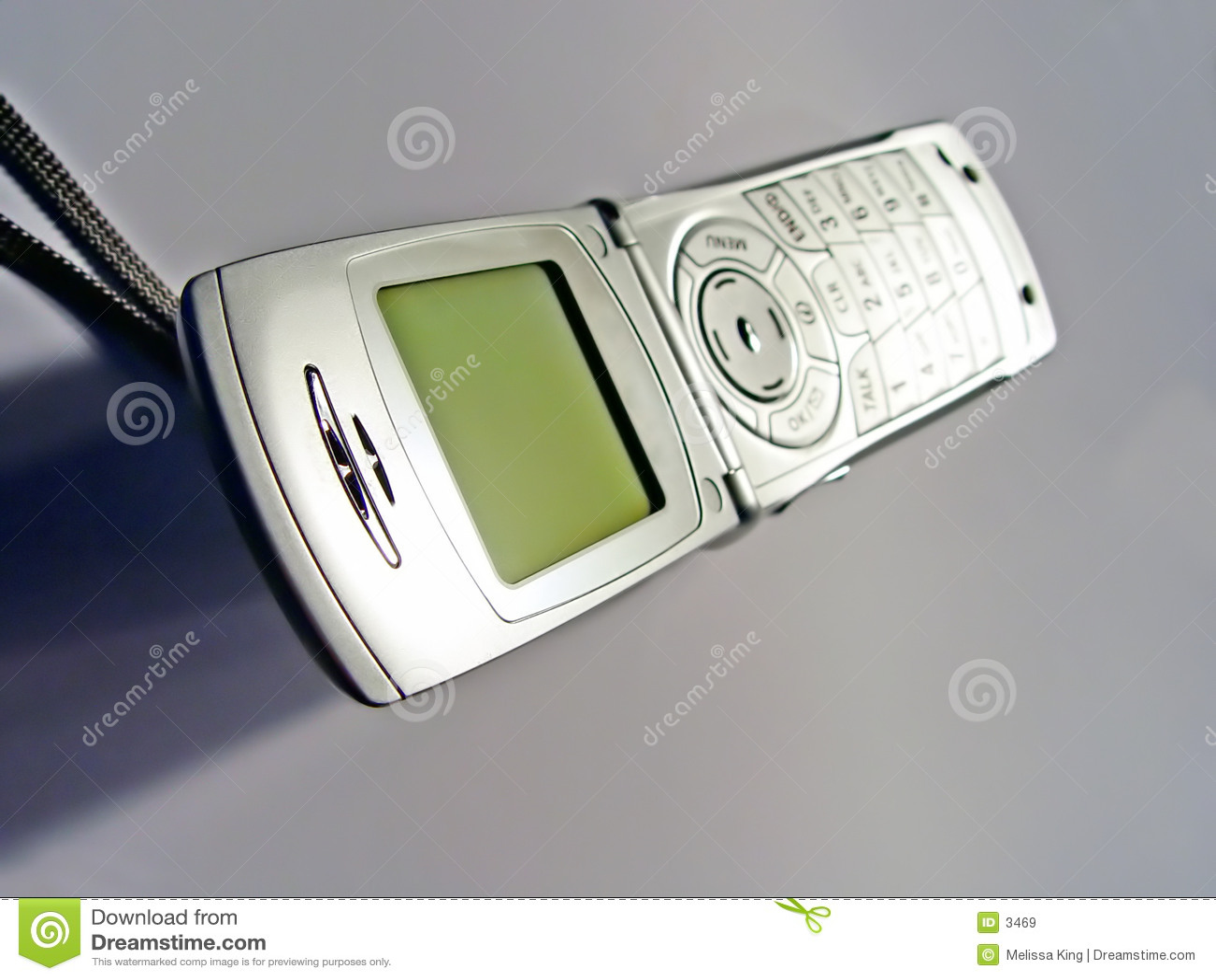 Telefono delle cellule aperto