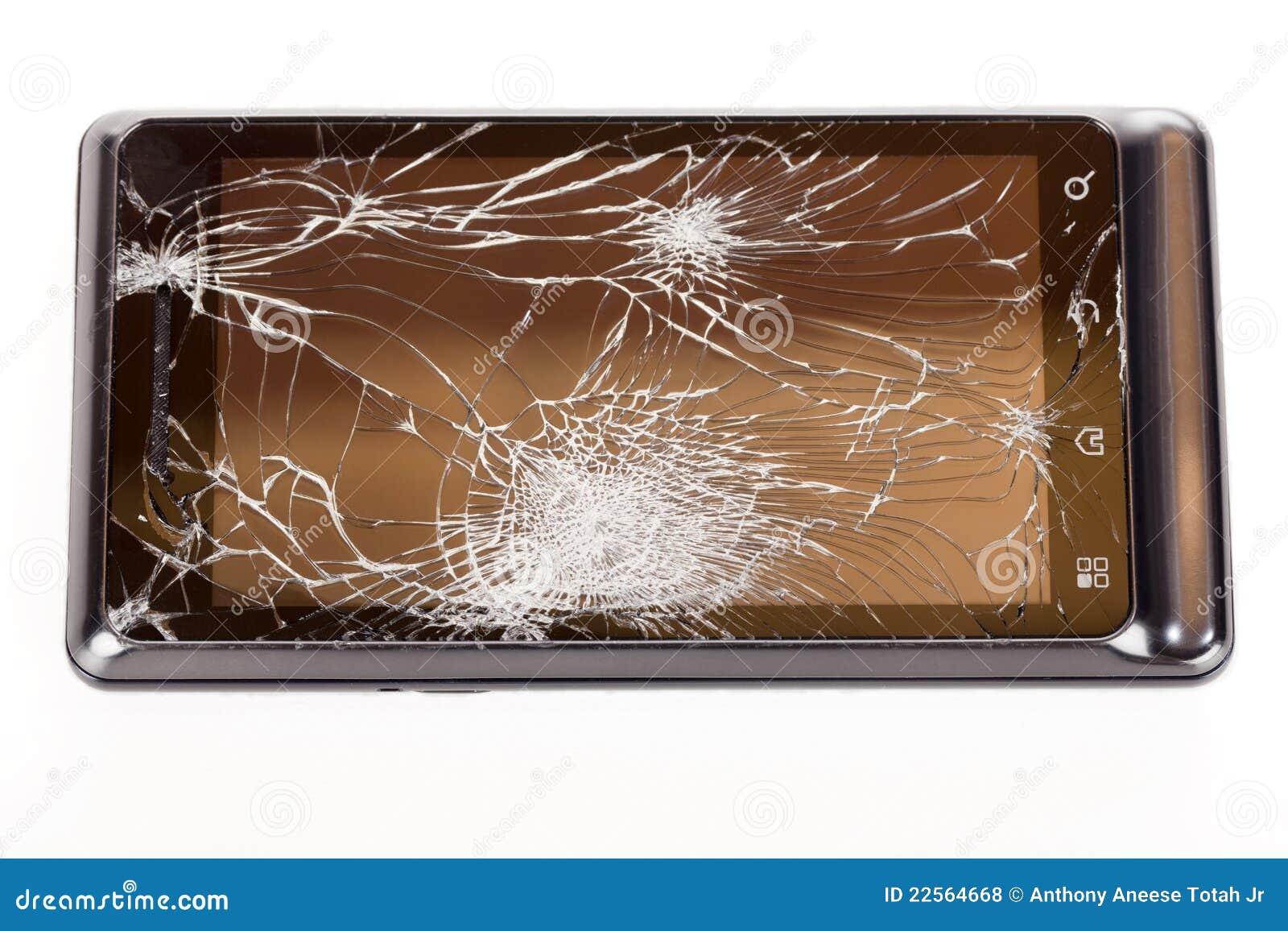 Telefono fracassato delle cellule