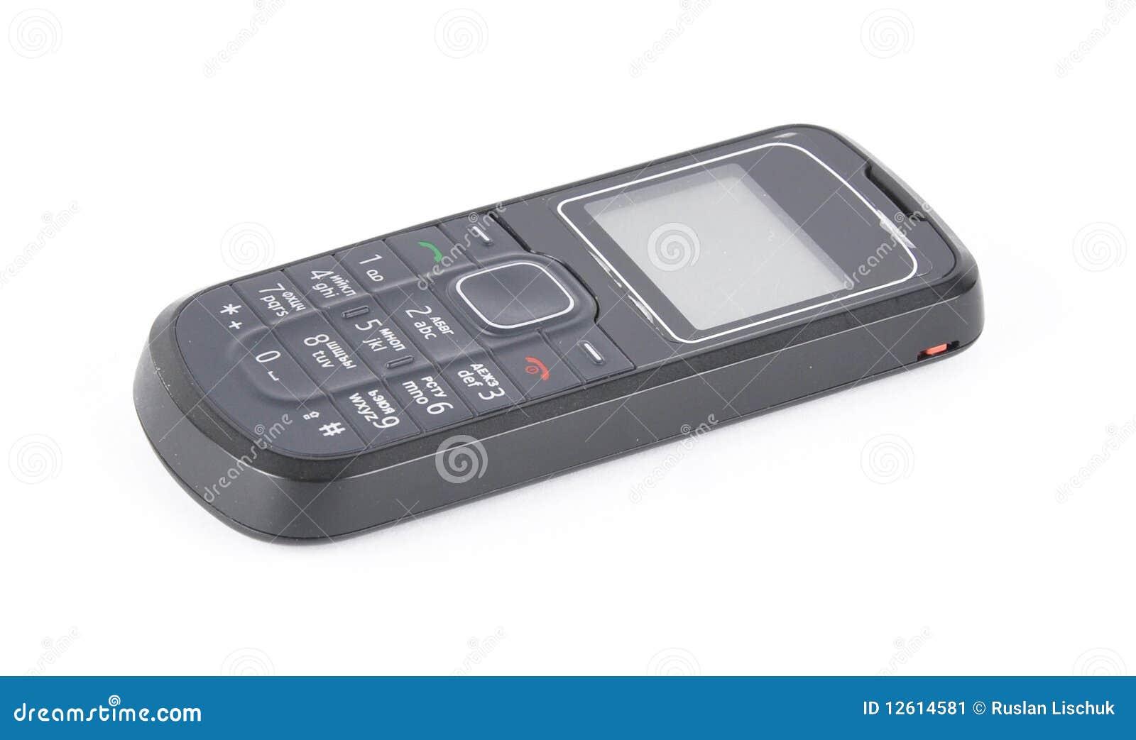 Telefono mobile immagine stock immagine di tasti nero for Mobile telefono