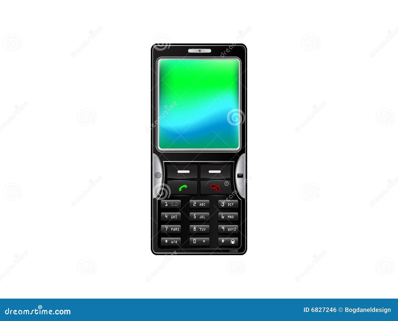 telefono mobile illustrazione vettoriale immagine di