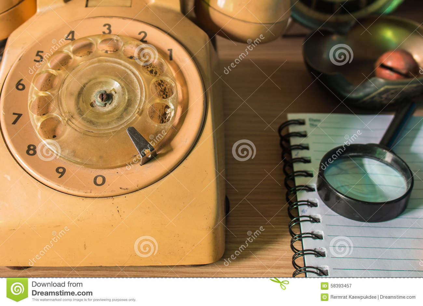 Telefono sullo scrittorio