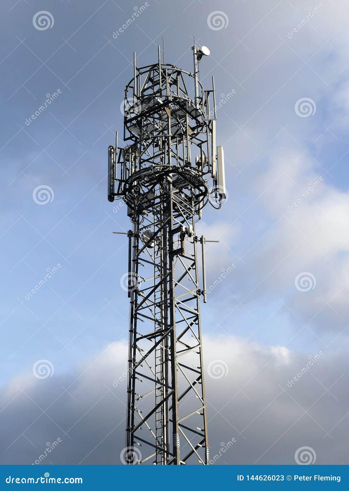 Telefonu Komórkowego maszt, Micklefield zieleń