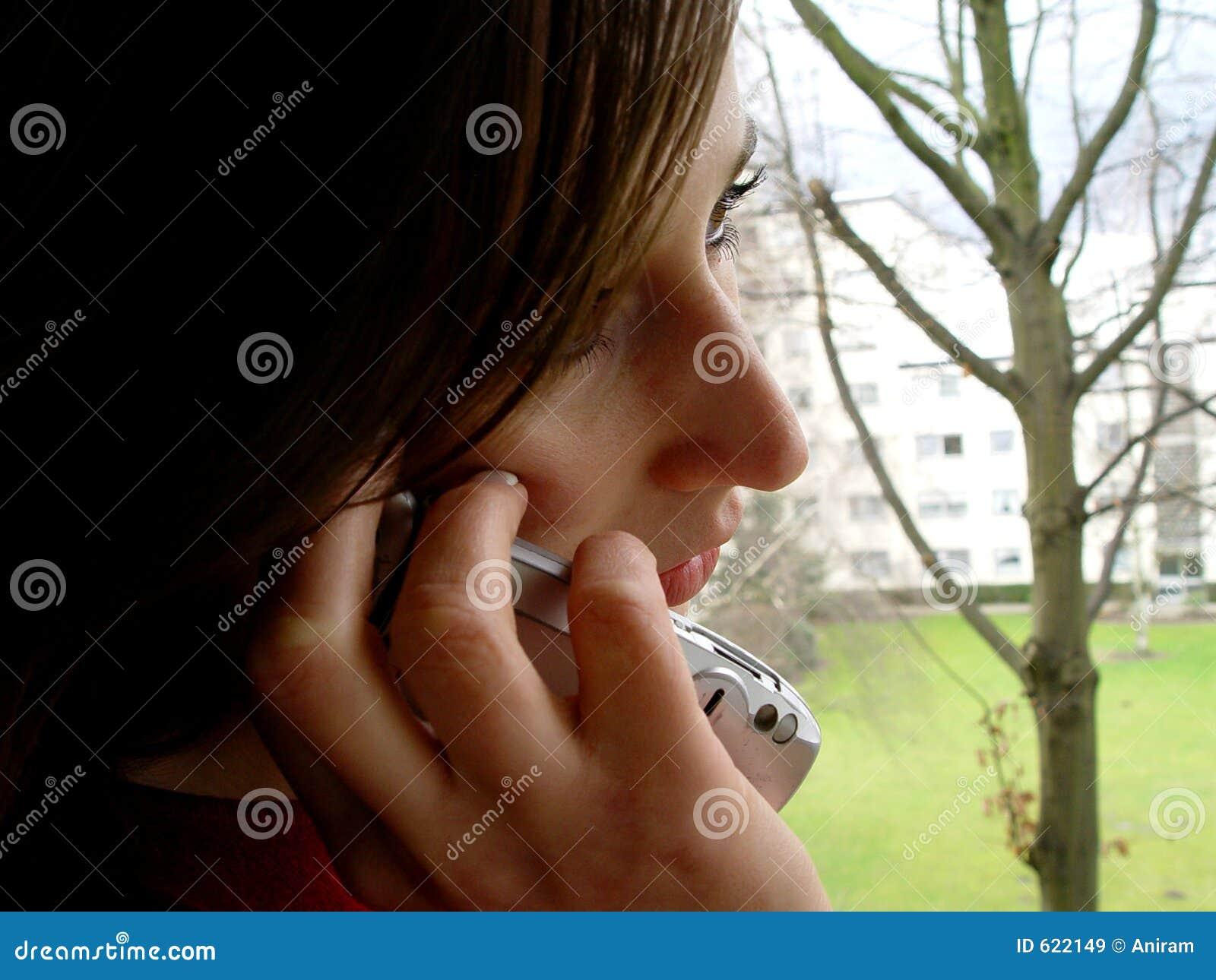 Telefoon in de hand