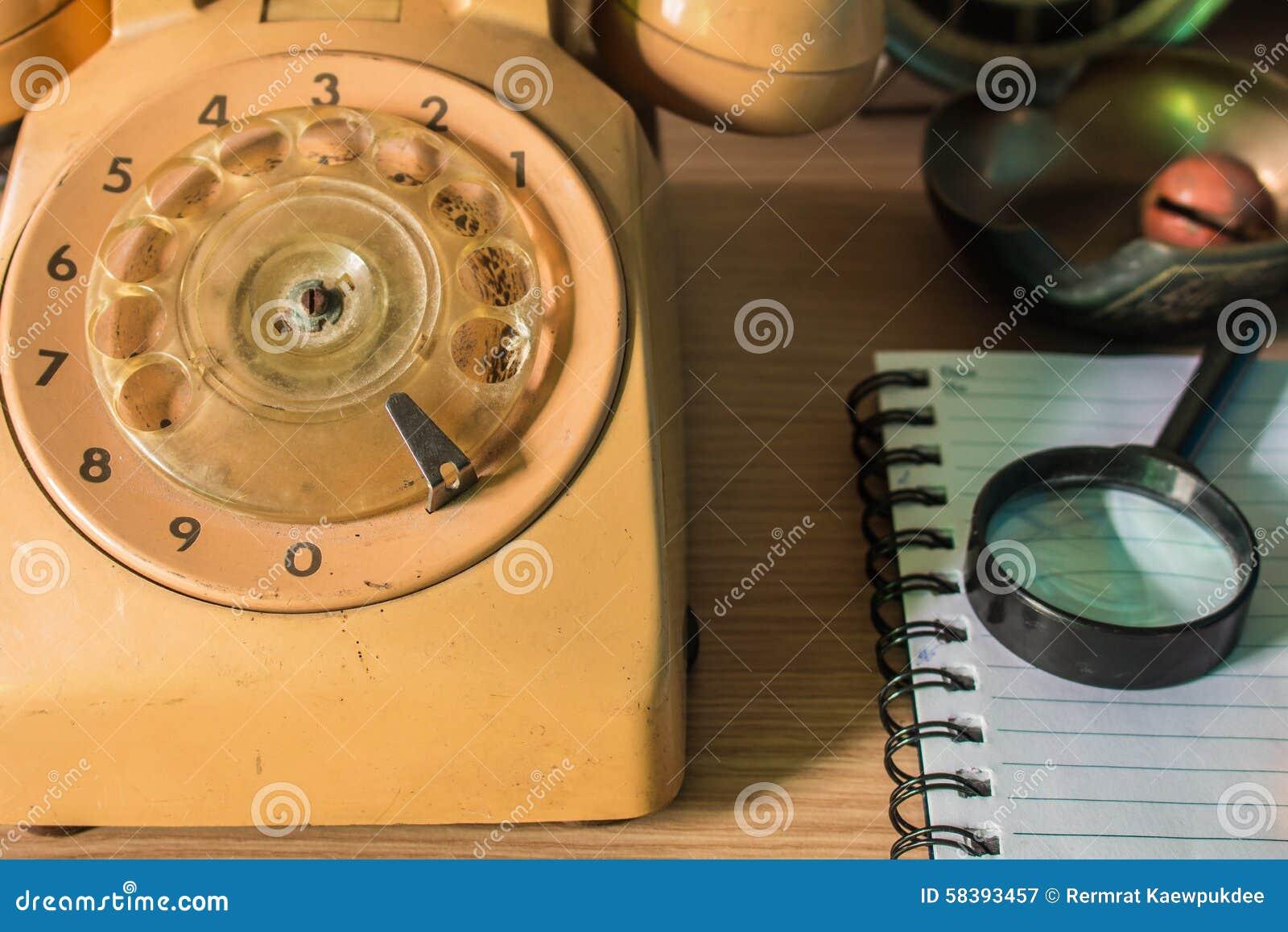 Telefoon op het bureau