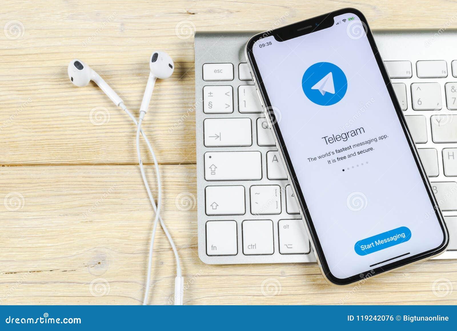 telegram app for iphone x
