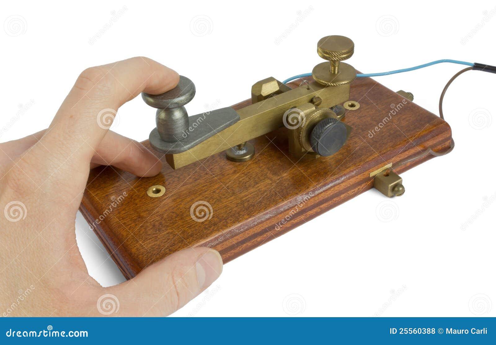 Telegraph Key Stock Photo Image Of Message Impulse