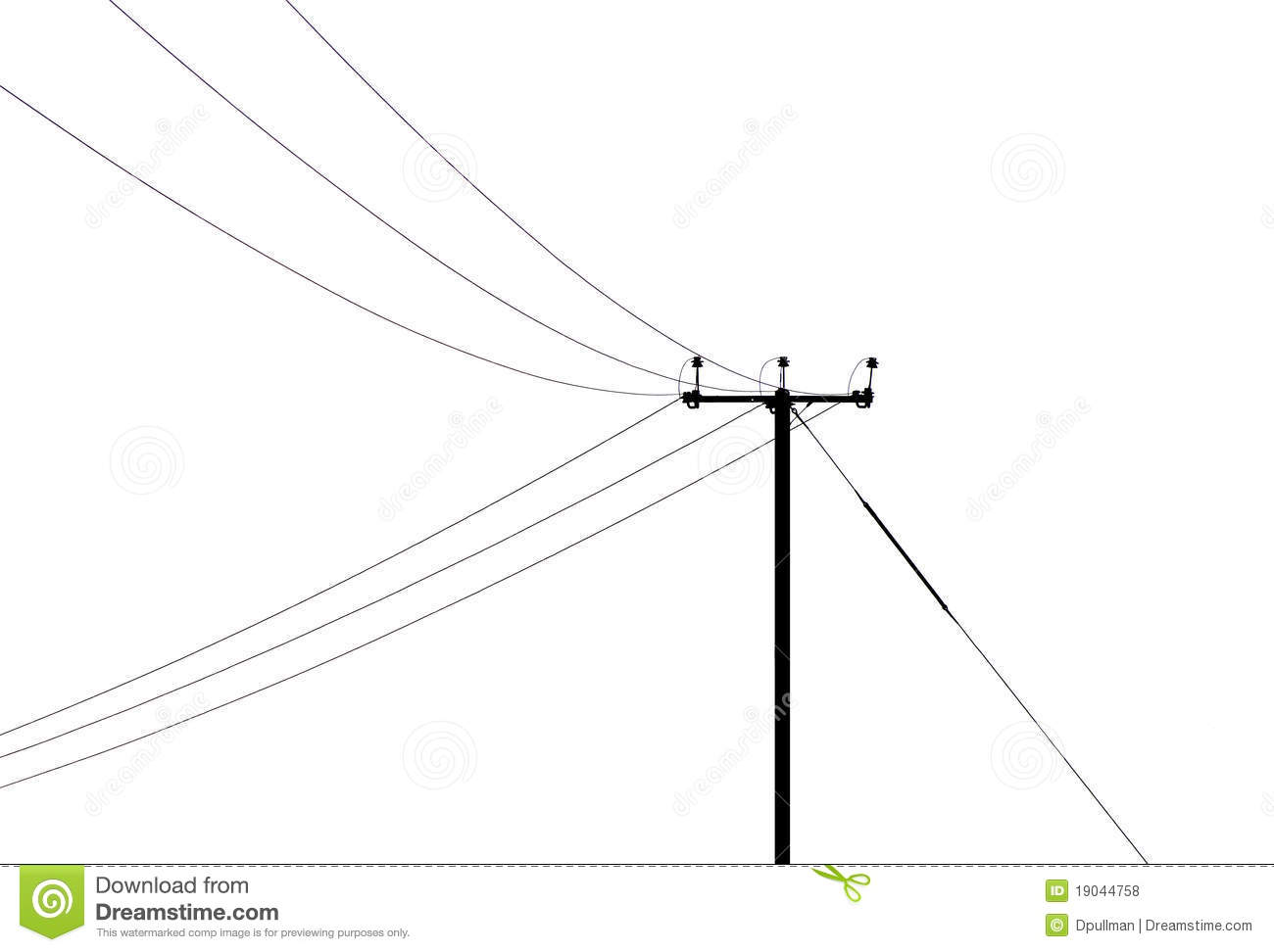 telegraph pole stock photo  image of connection  line