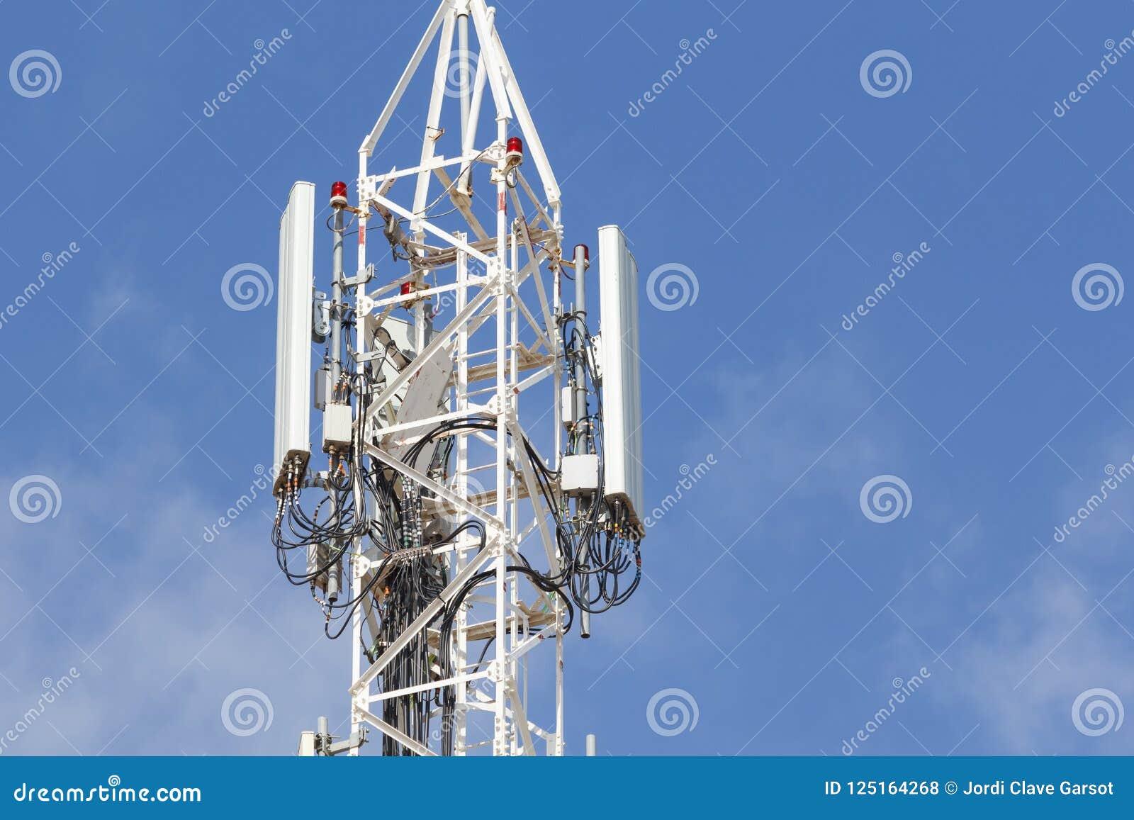 Telekommunikation und Mobilantennen